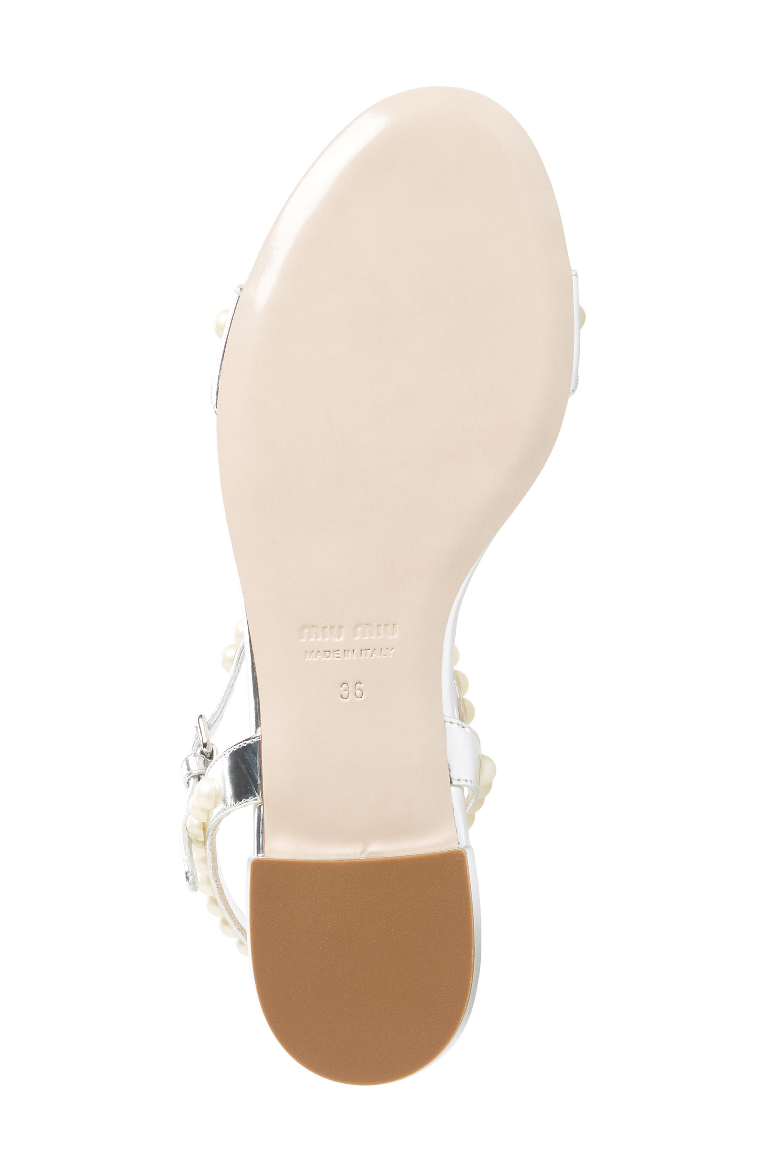 Pearl Sandal,                             Alternate thumbnail 6, color,                             Silver
