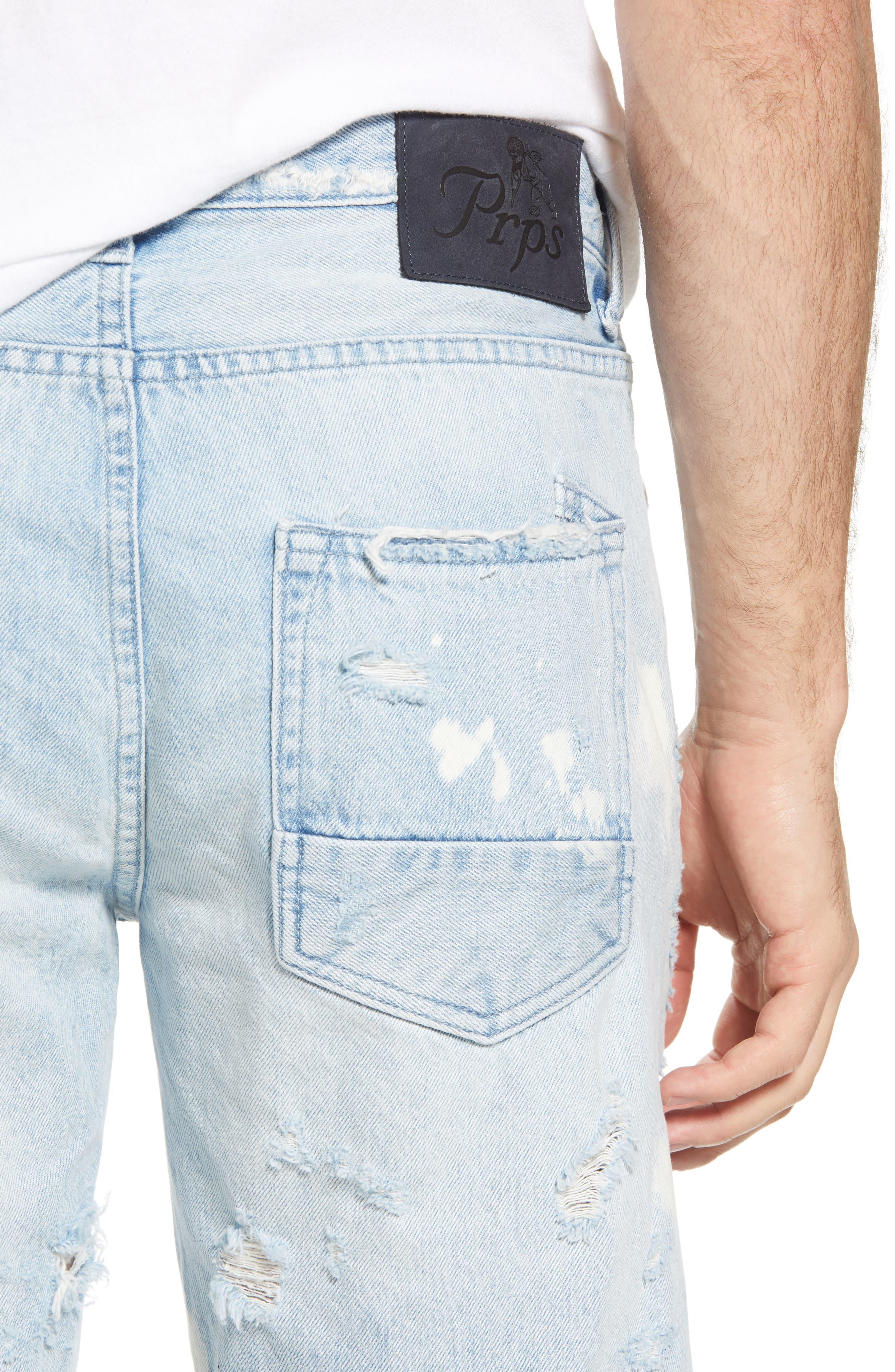Alternate Image 4  - PRPS Challenger Regular Fit Shorts (Ultra)