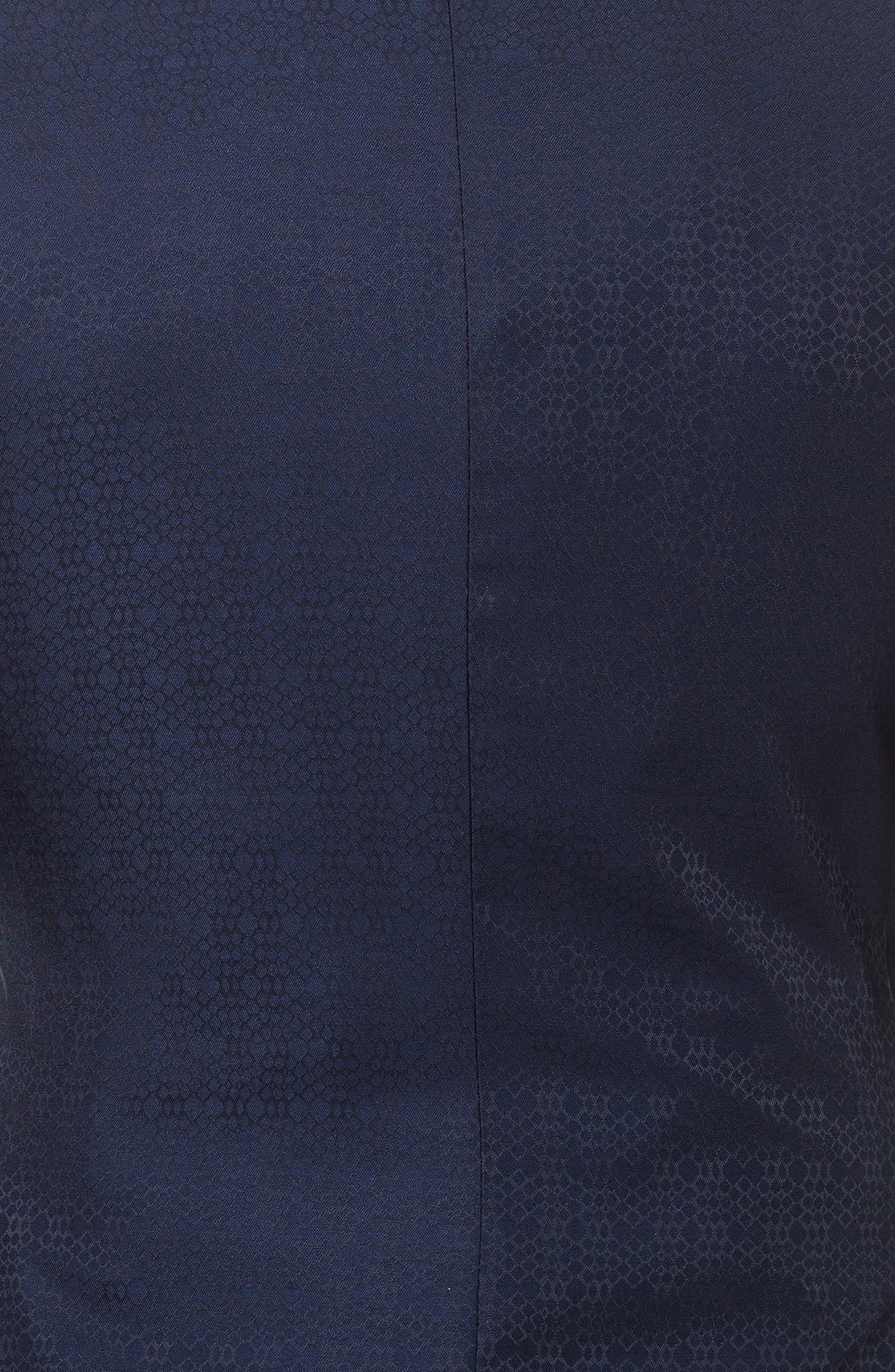 Socrate Scale Textured Sport Coat,                             Alternate thumbnail 4, color,                             Blue