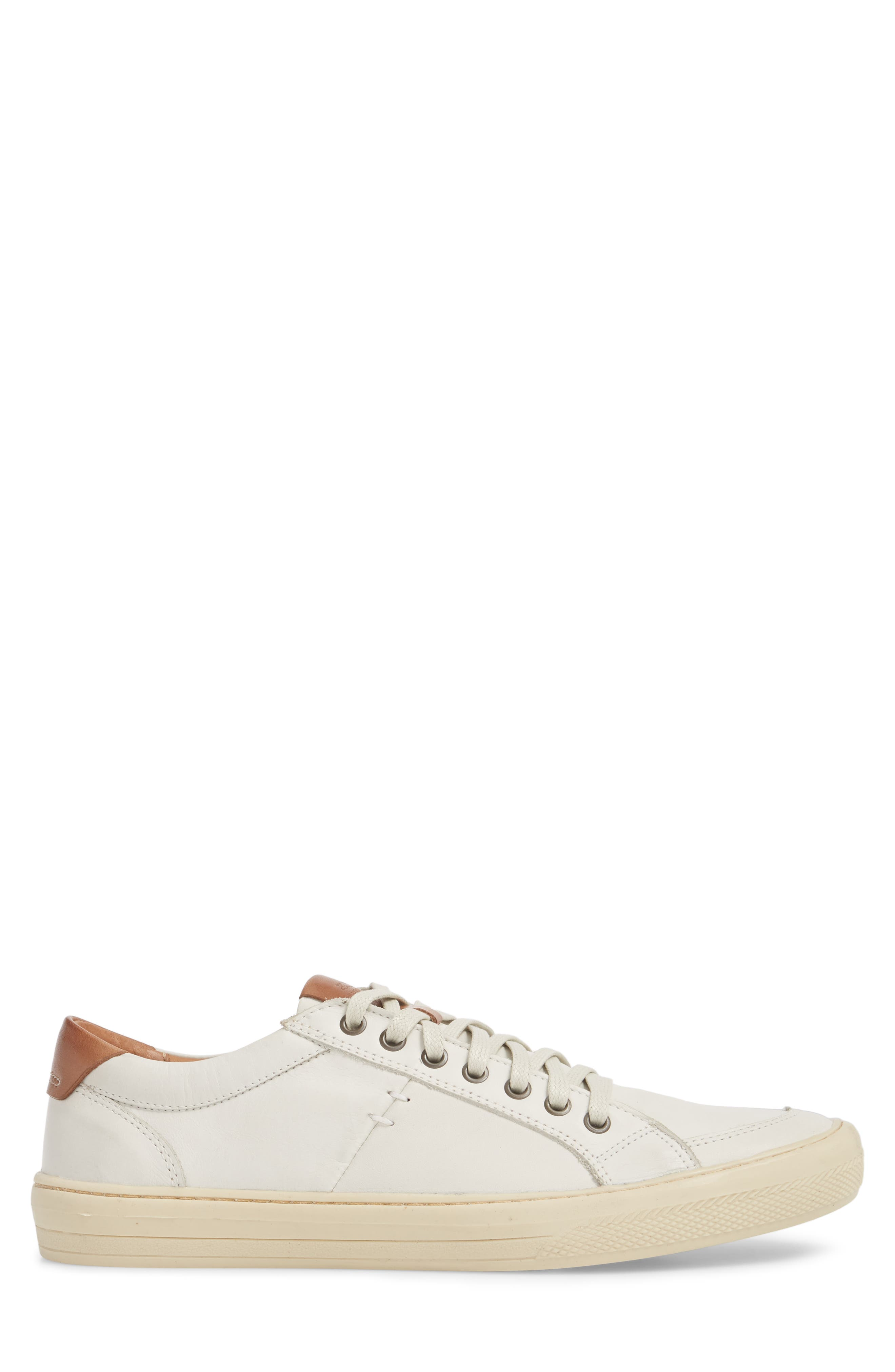 Bilac Low Top Sneaker,                             Alternate thumbnail 3, color,                             Touch Ice/ Bronze Leather