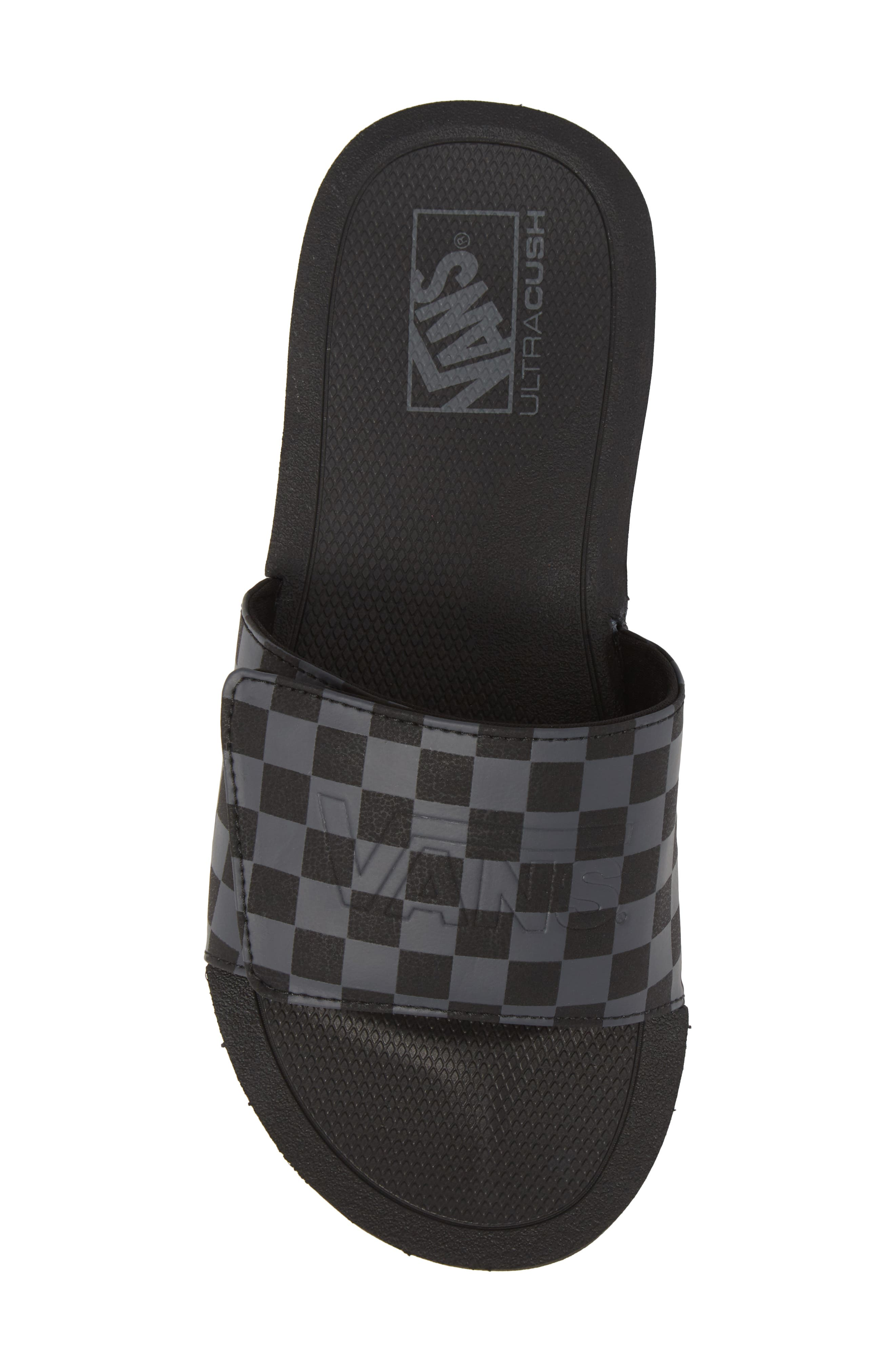 Nexpa Slide Sandal,                             Alternate thumbnail 5, color,                             Black/ Asphalt