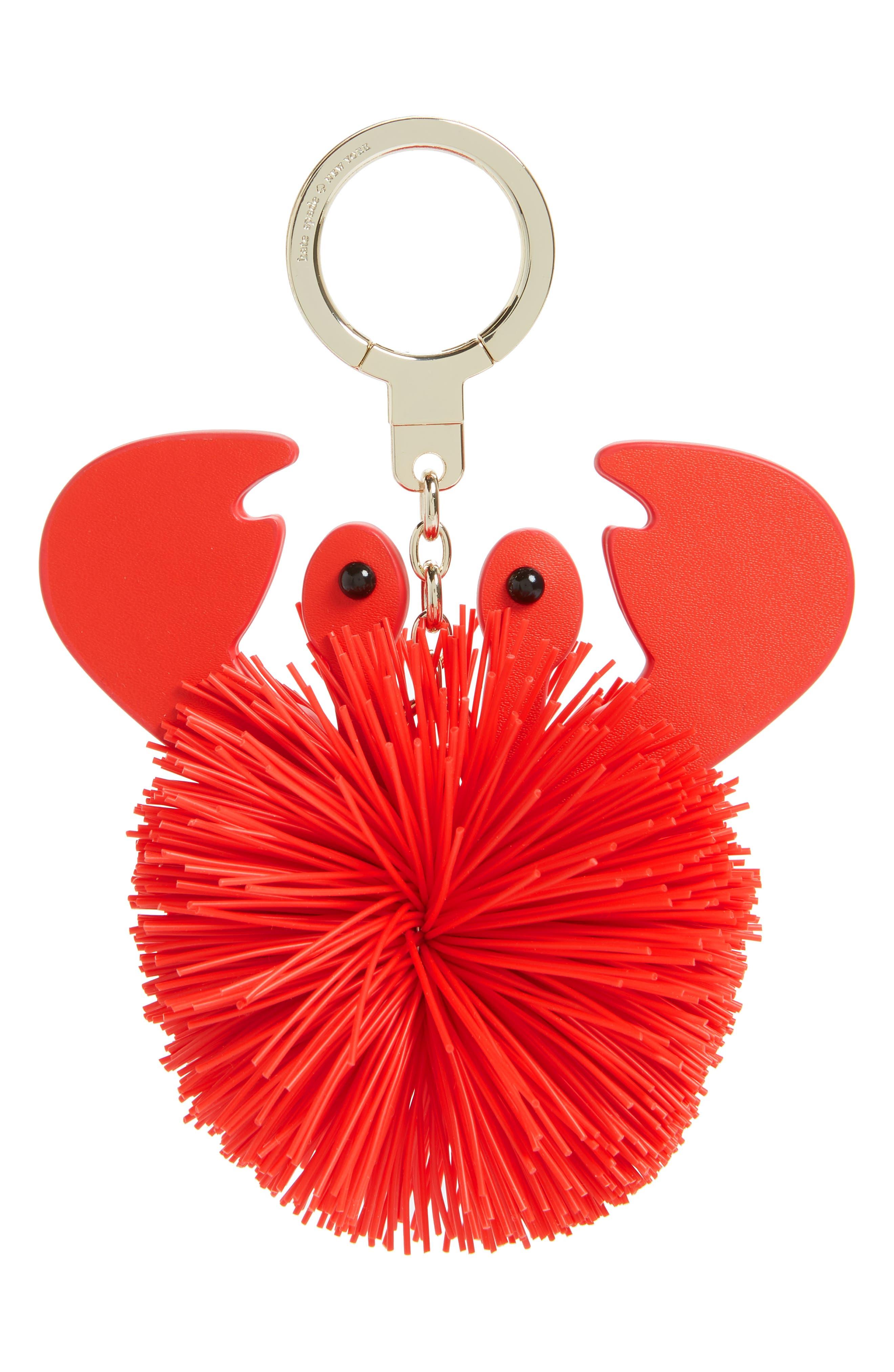 shore thing - crab bag charm,                             Main thumbnail 1, color,                             Multi