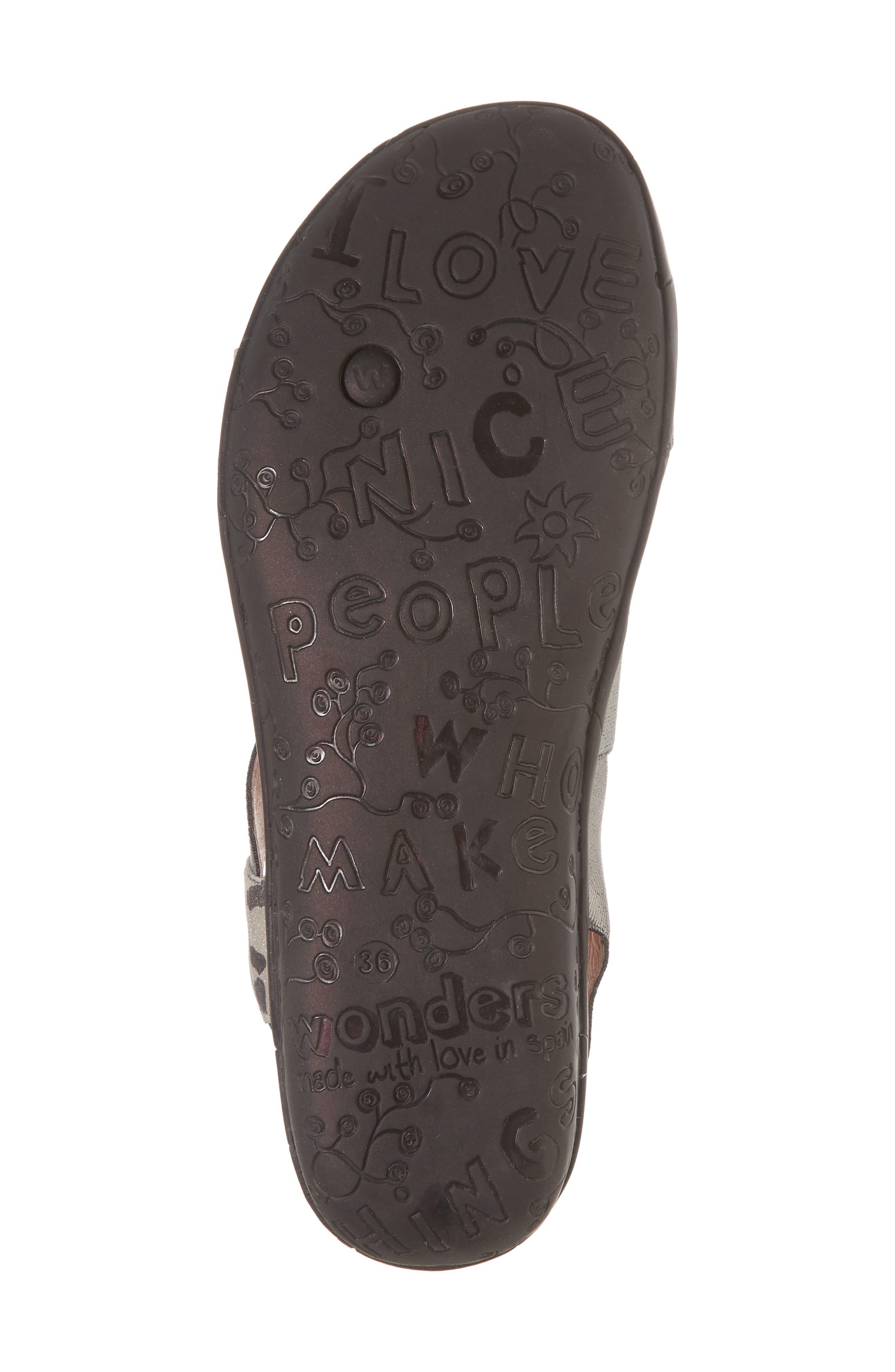 Slingback Sandal,                             Alternate thumbnail 6, color,                             Leo Leather