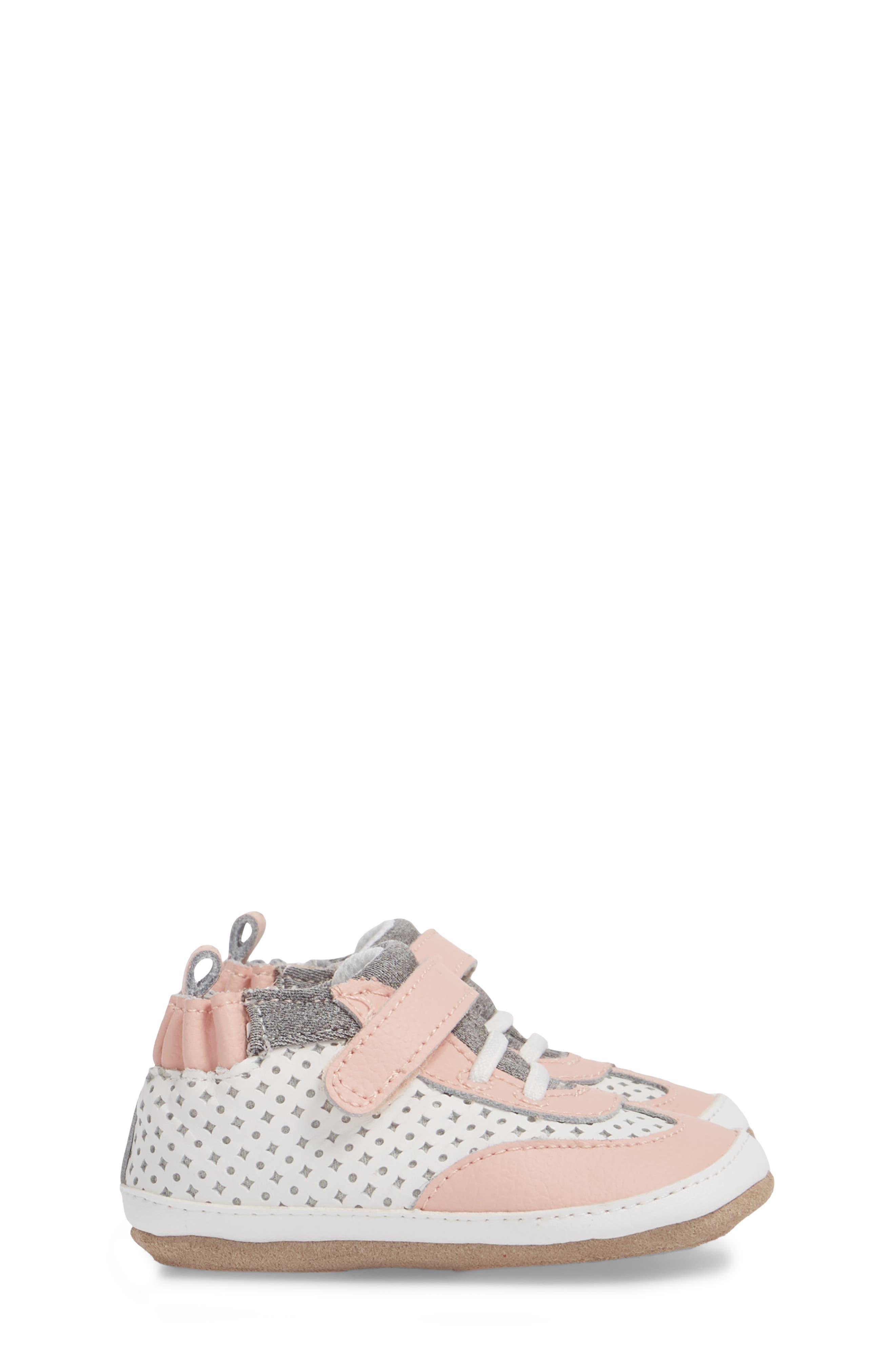 Mini Shoez Katie's Kicks Sneaker,                             Alternate thumbnail 4, color,                             Pink