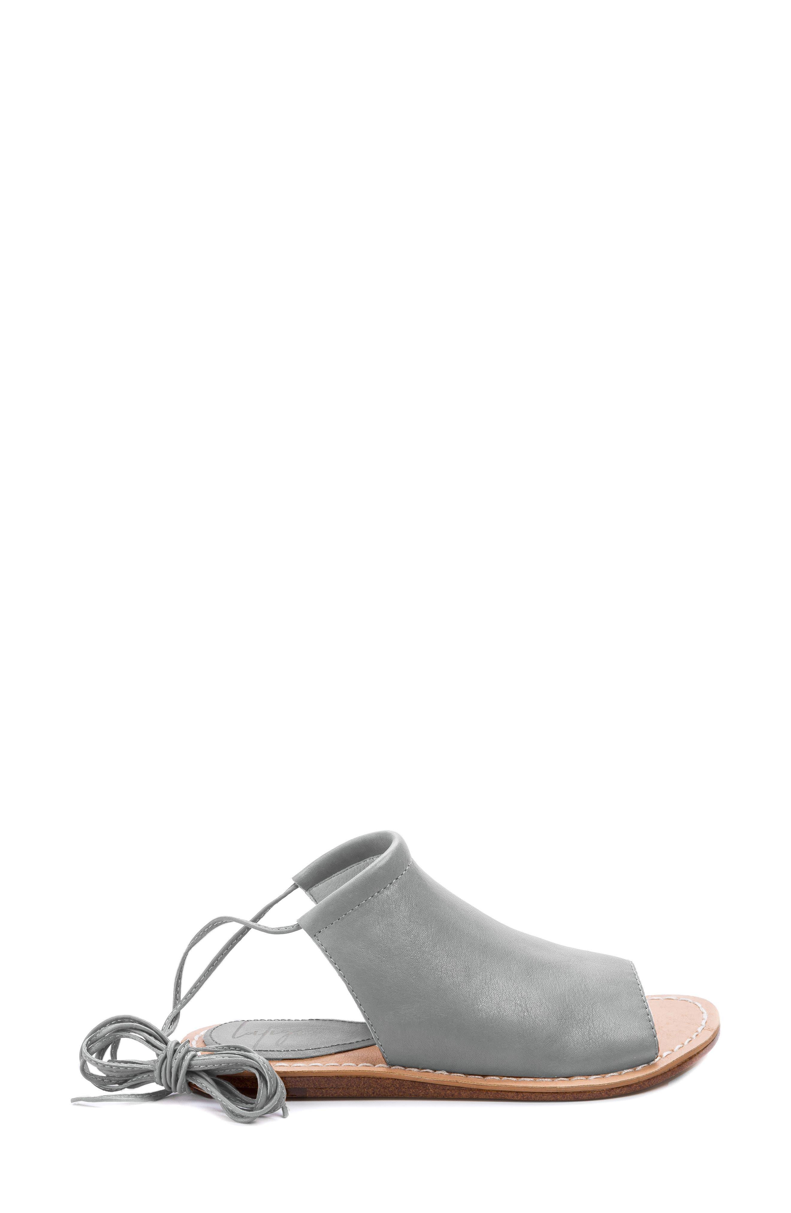 Vin Sandal,                             Alternate thumbnail 3, color,                             Mist Grey