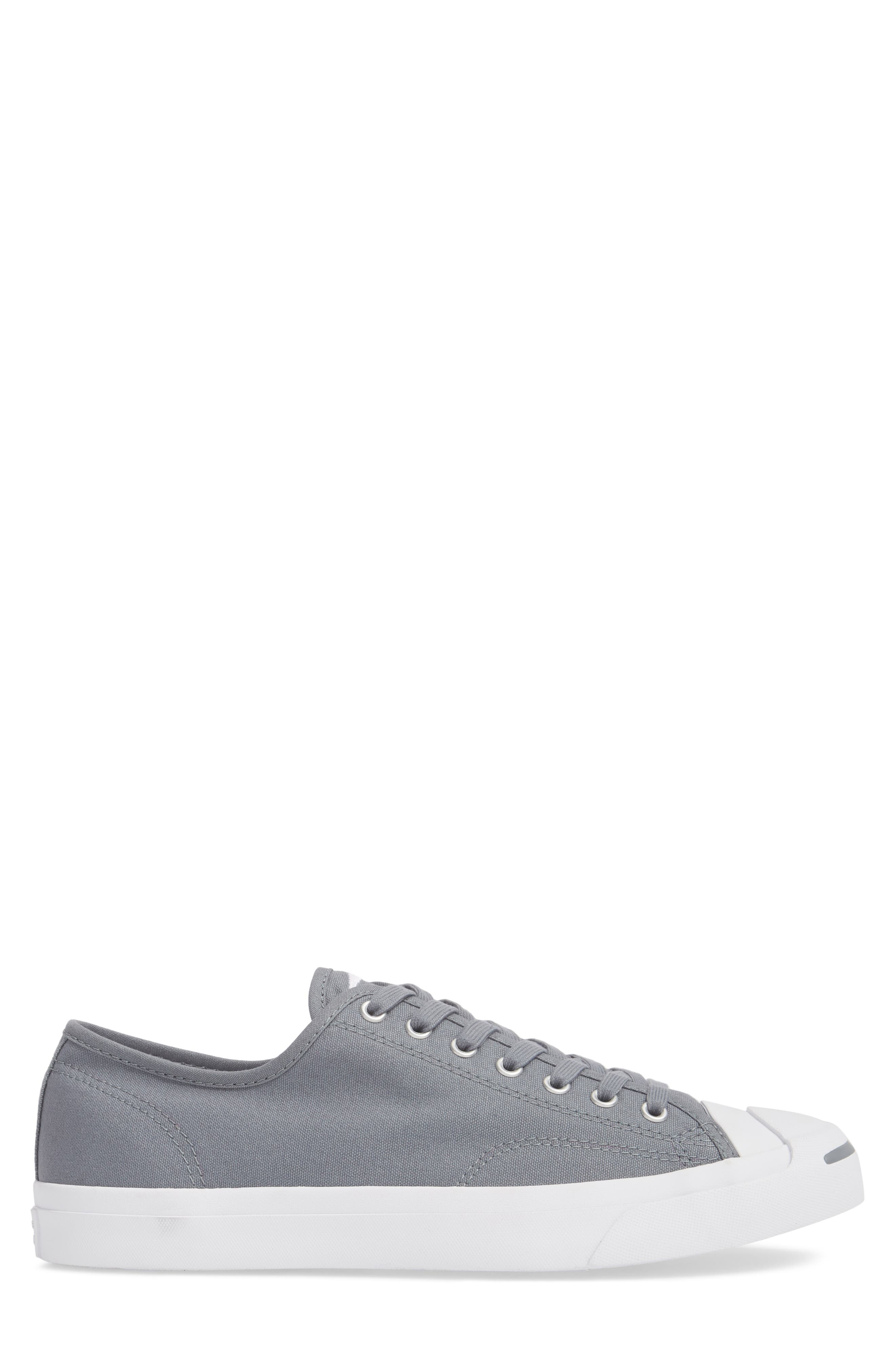'Jack Purcell' Sneaker,                             Alternate thumbnail 3, color,                             Cool Grey Canvas