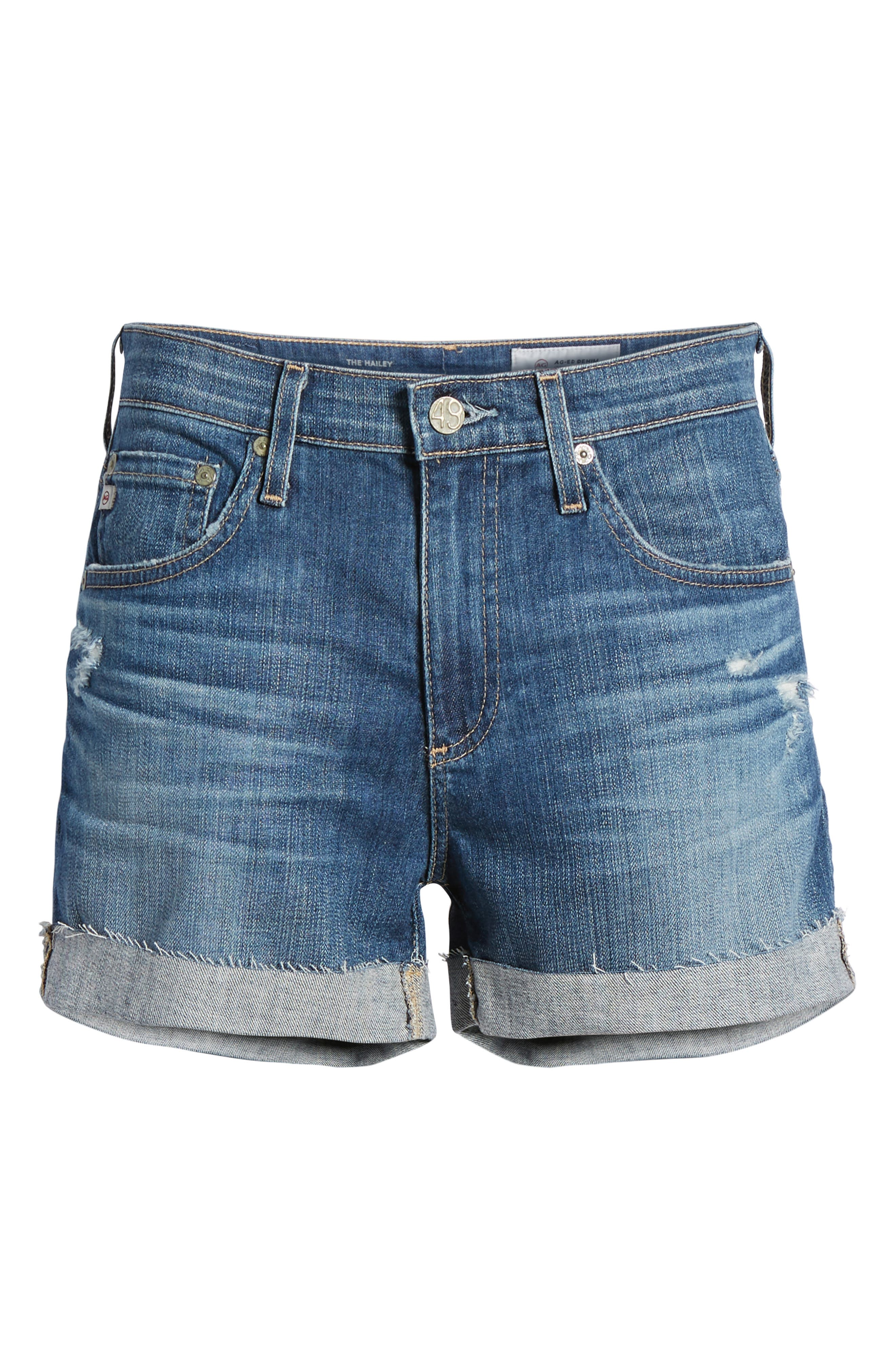 The Hailey Shorts,                             Alternate thumbnail 7, color,                             11 Years Teal Sky