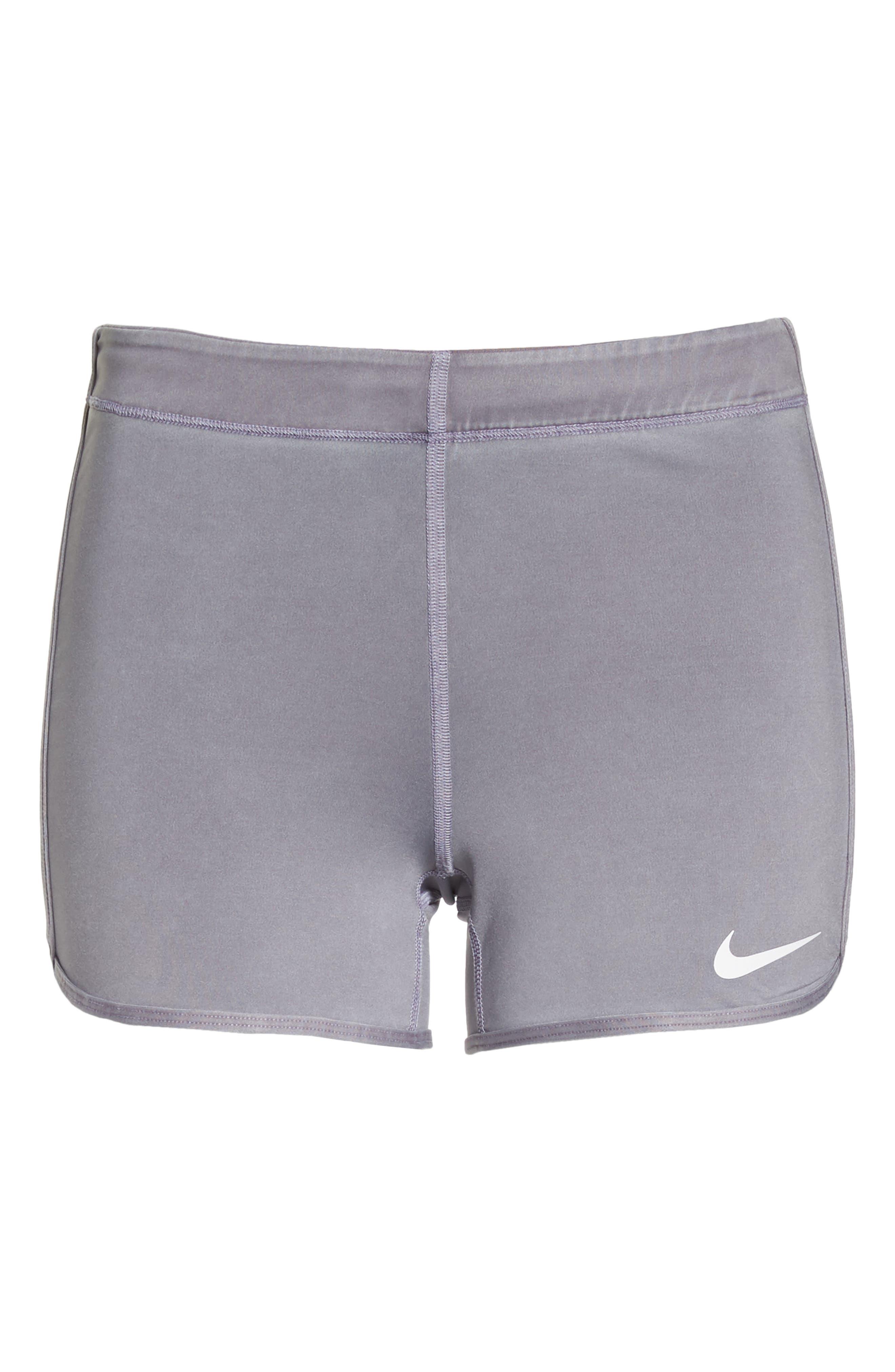 Pro Vintage Shorts,                             Alternate thumbnail 7, color,                             Dark Grey/ White