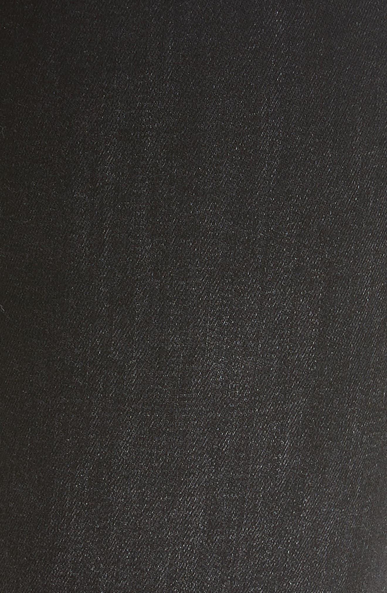 Mara Skinny Jeans,                             Alternate thumbnail 2, color,                             Black