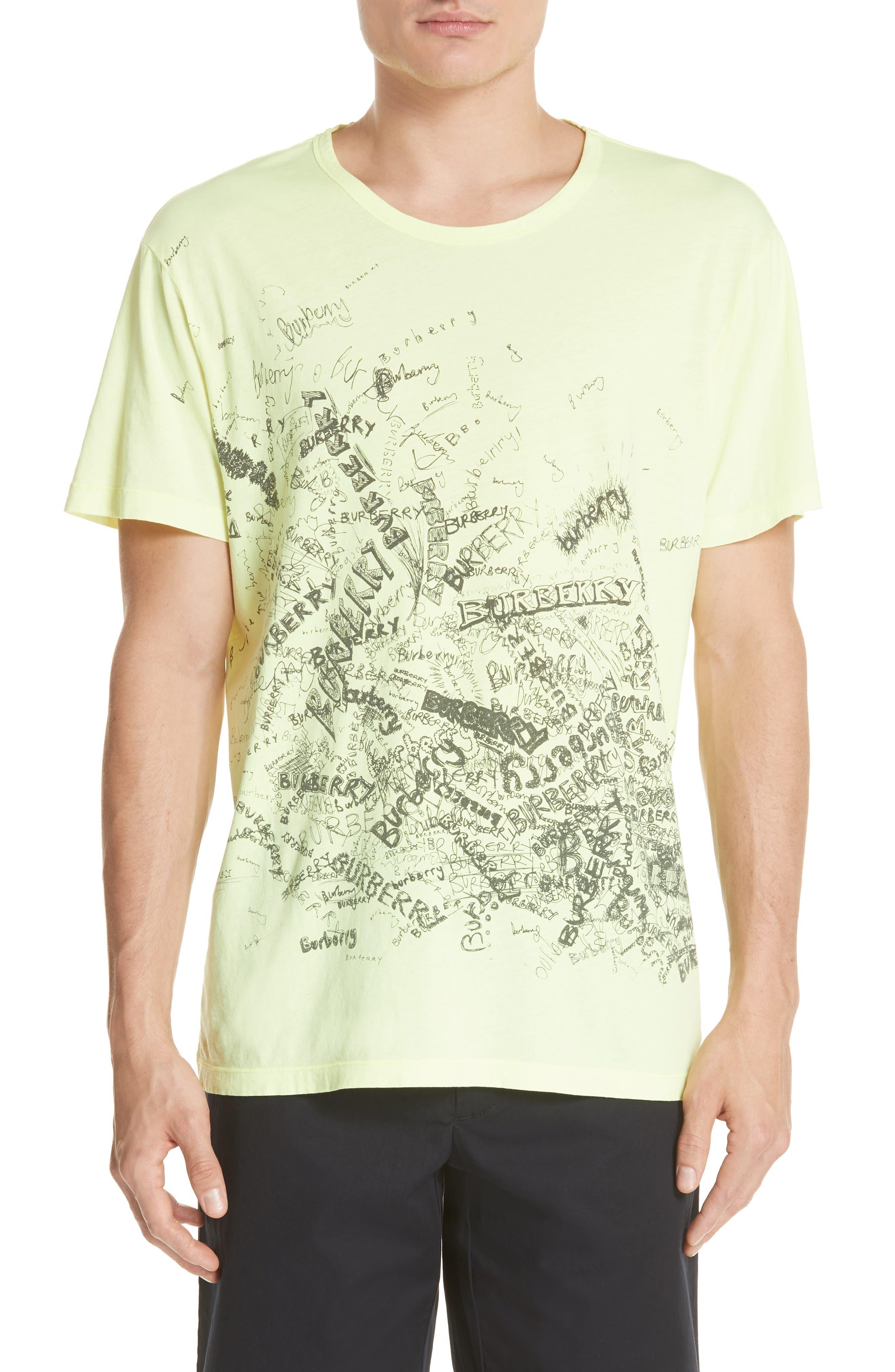 Burberry Rydon Graphic T-Shirt
