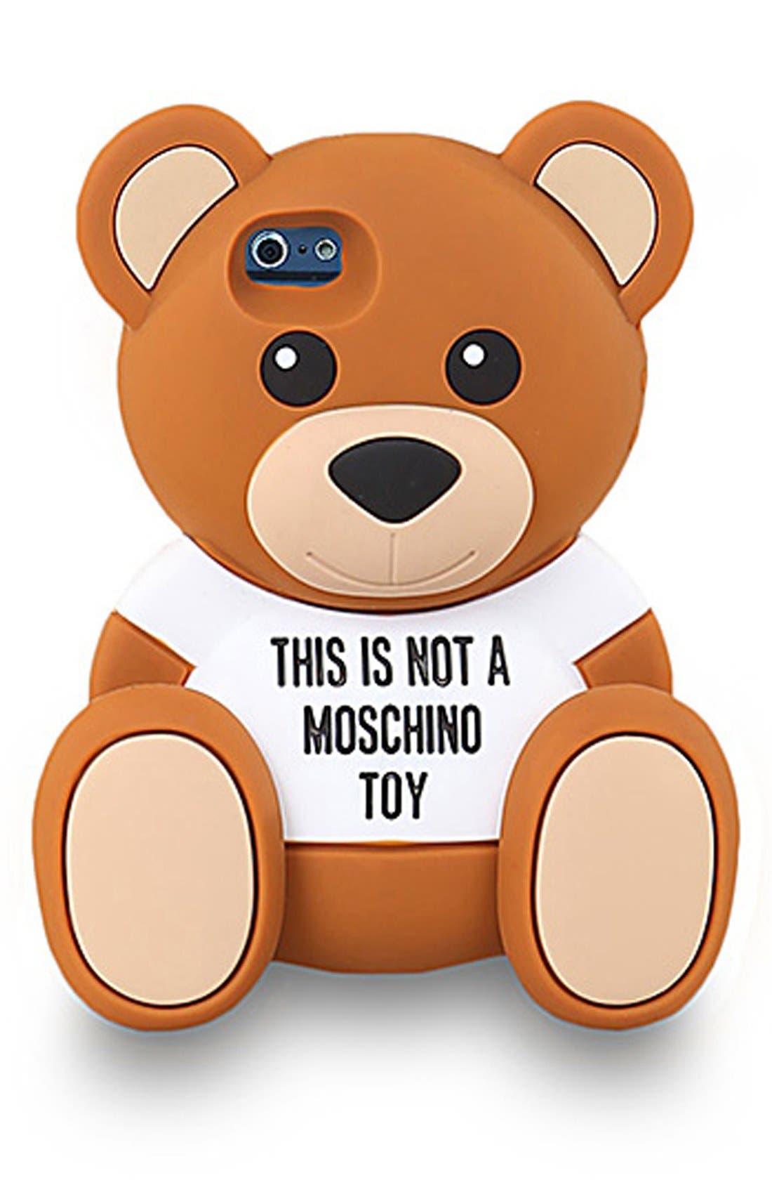 Teddy Bear iPhone 6 Case,                         Main,                         color, Fantasy Print Brown