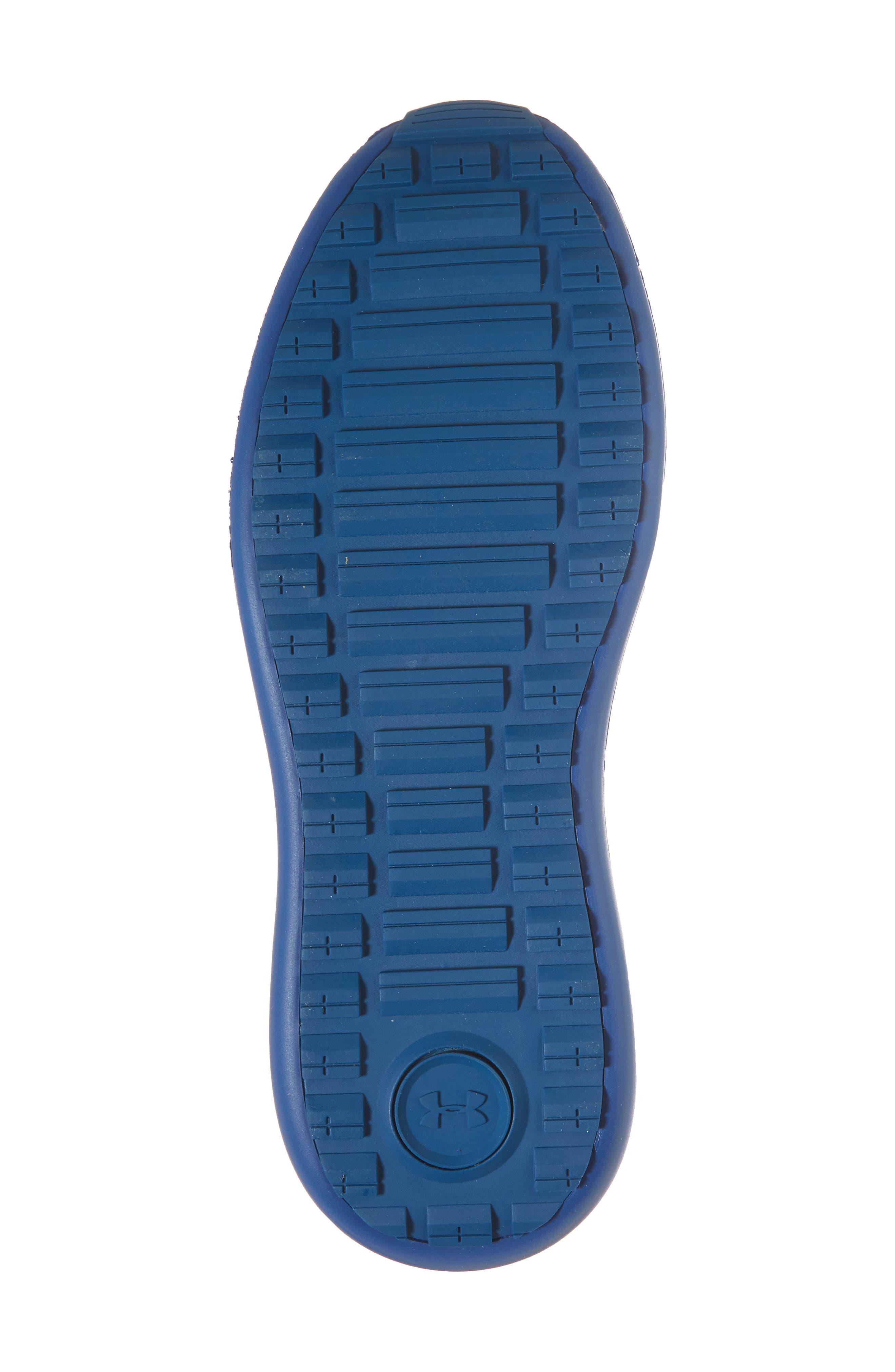 Threadborne Shift Sneaker,                             Alternate thumbnail 5, color,                             Blue / Mediterranean