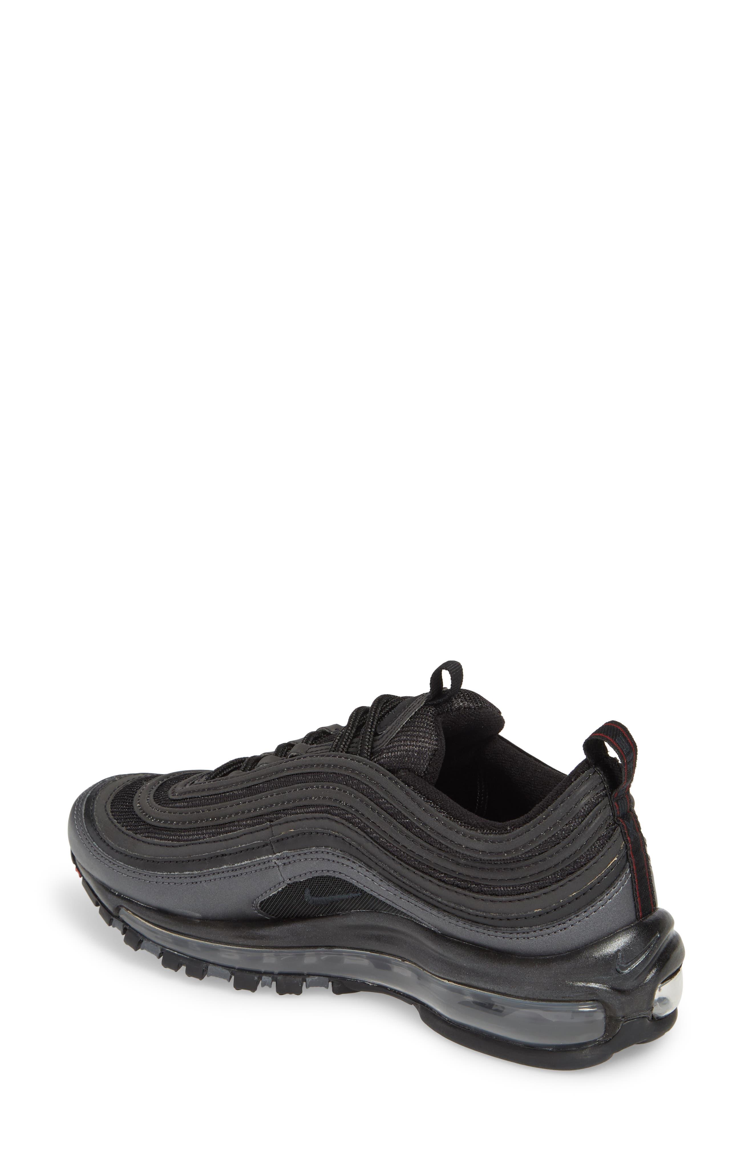 Air Max 97 Sneaker,                             Alternate thumbnail 2, color,                             Black/ Anthracite/ Hematite