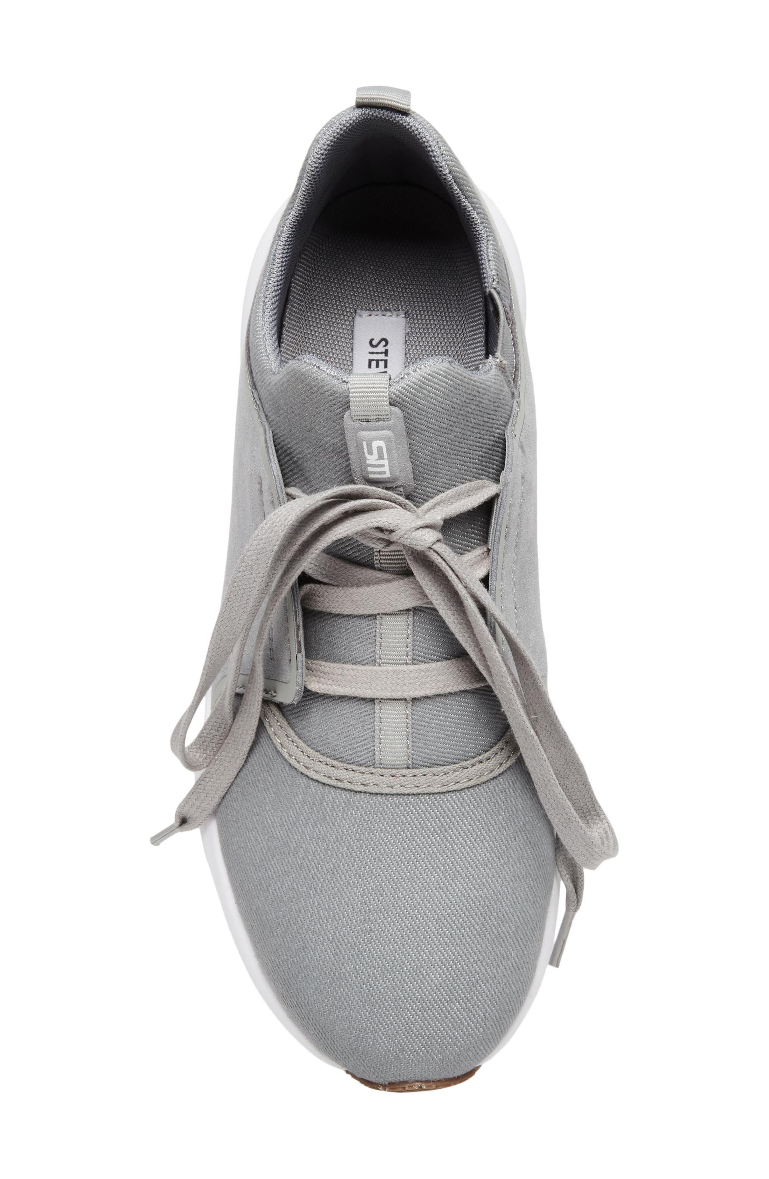 Barrett Sneaker,                             Alternate thumbnail 5, color,                             Grey Leather