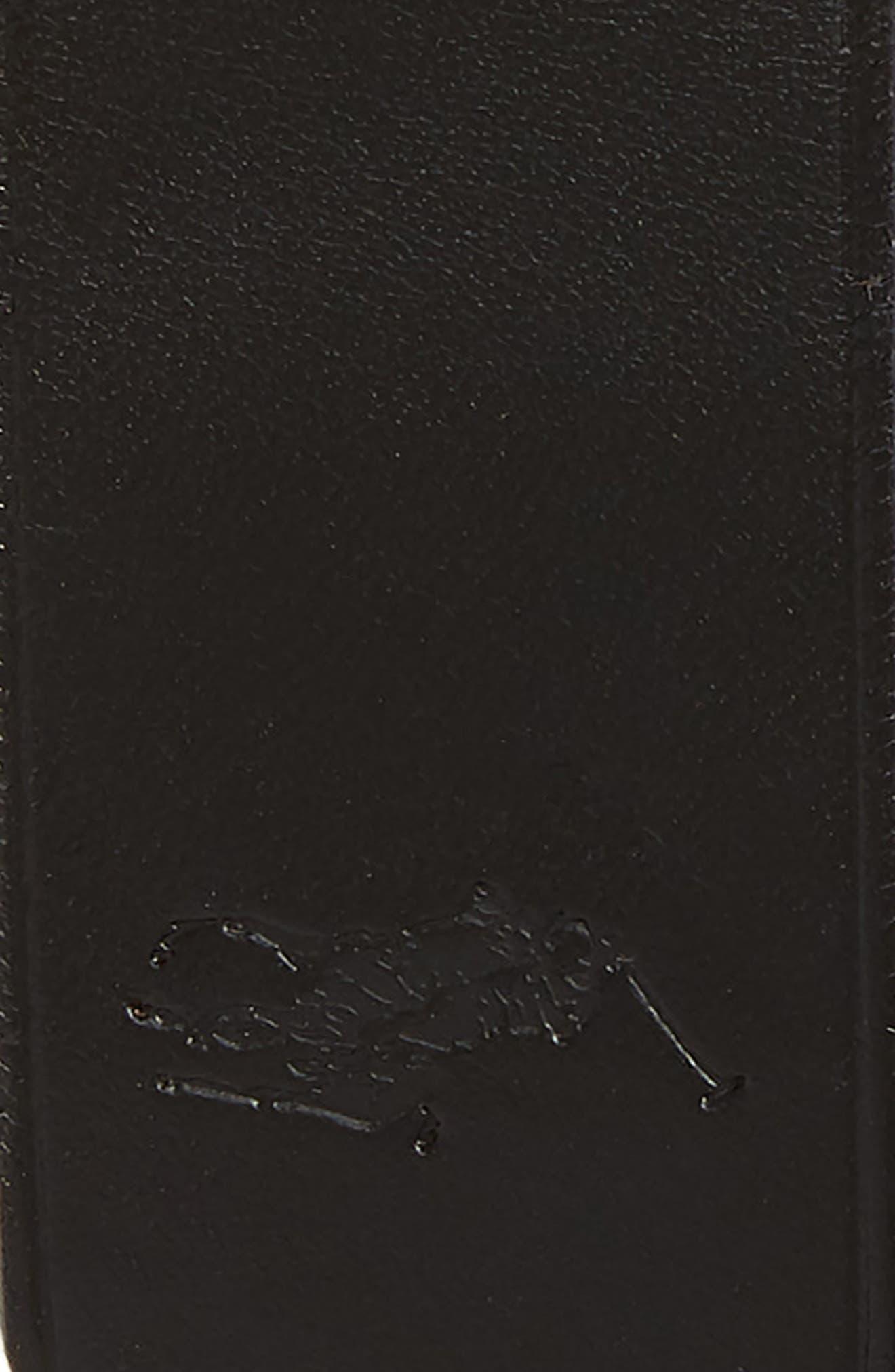 Reversible Leather Belt,                             Alternate thumbnail 2, color,                             Black/ Brown