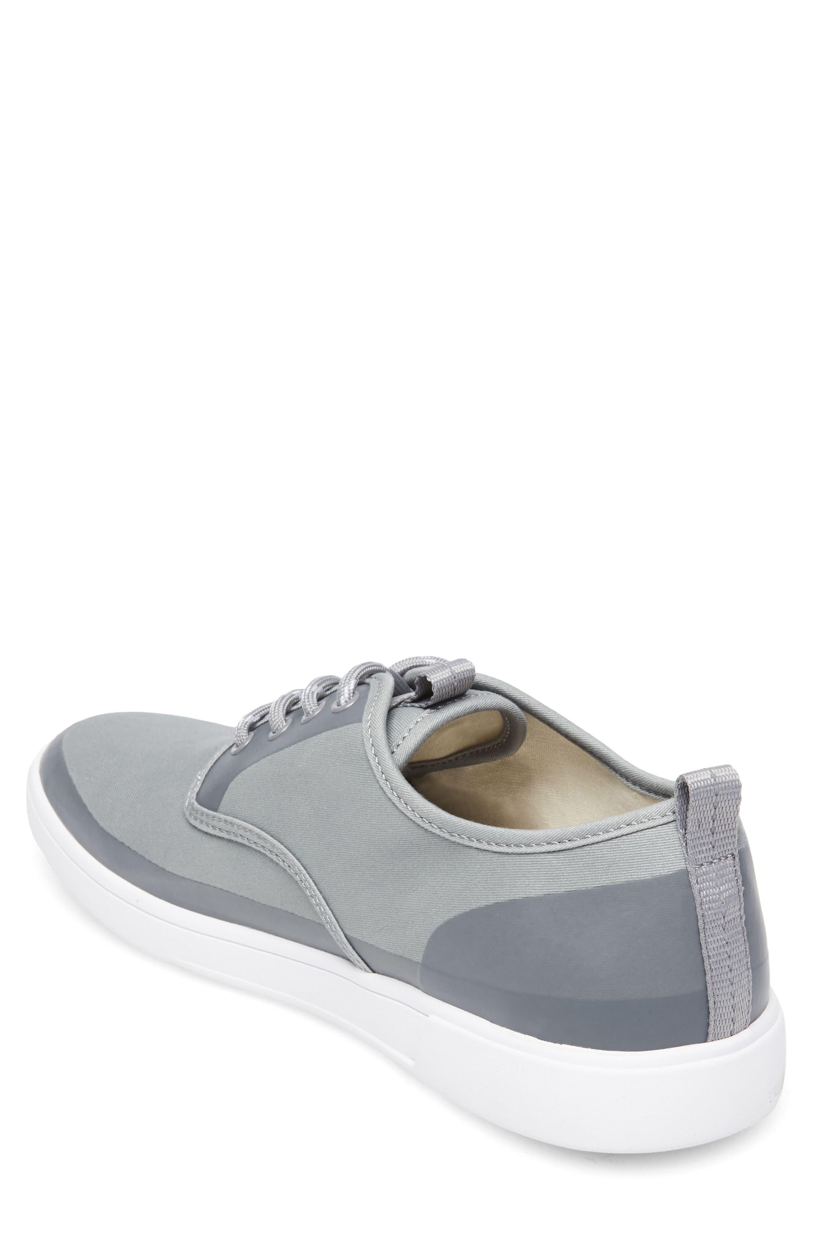 Fayette Low Top Sneaker,                             Alternate thumbnail 2, color,                             Grey Fabric