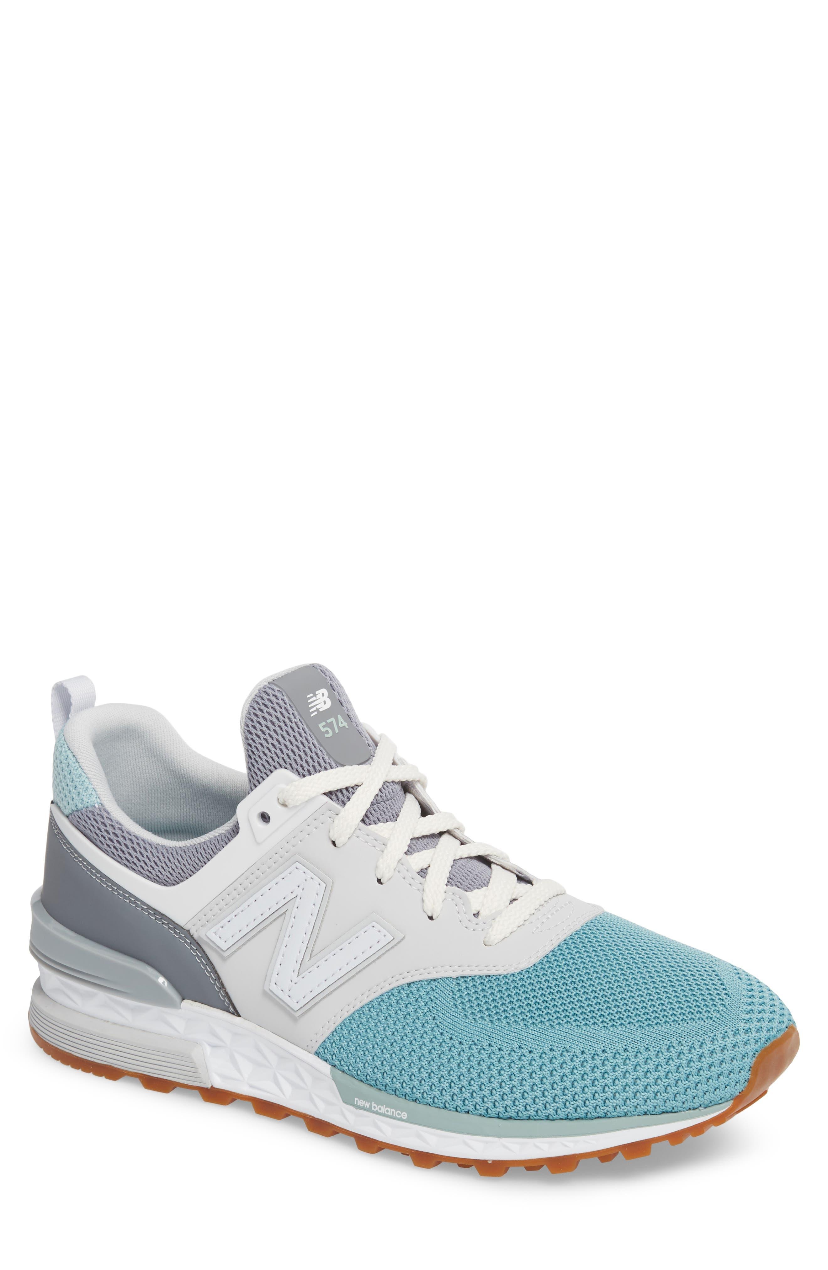 574 Fresh Foam Sport Sneaker,                             Main thumbnail 1, color,                             Gunmetal