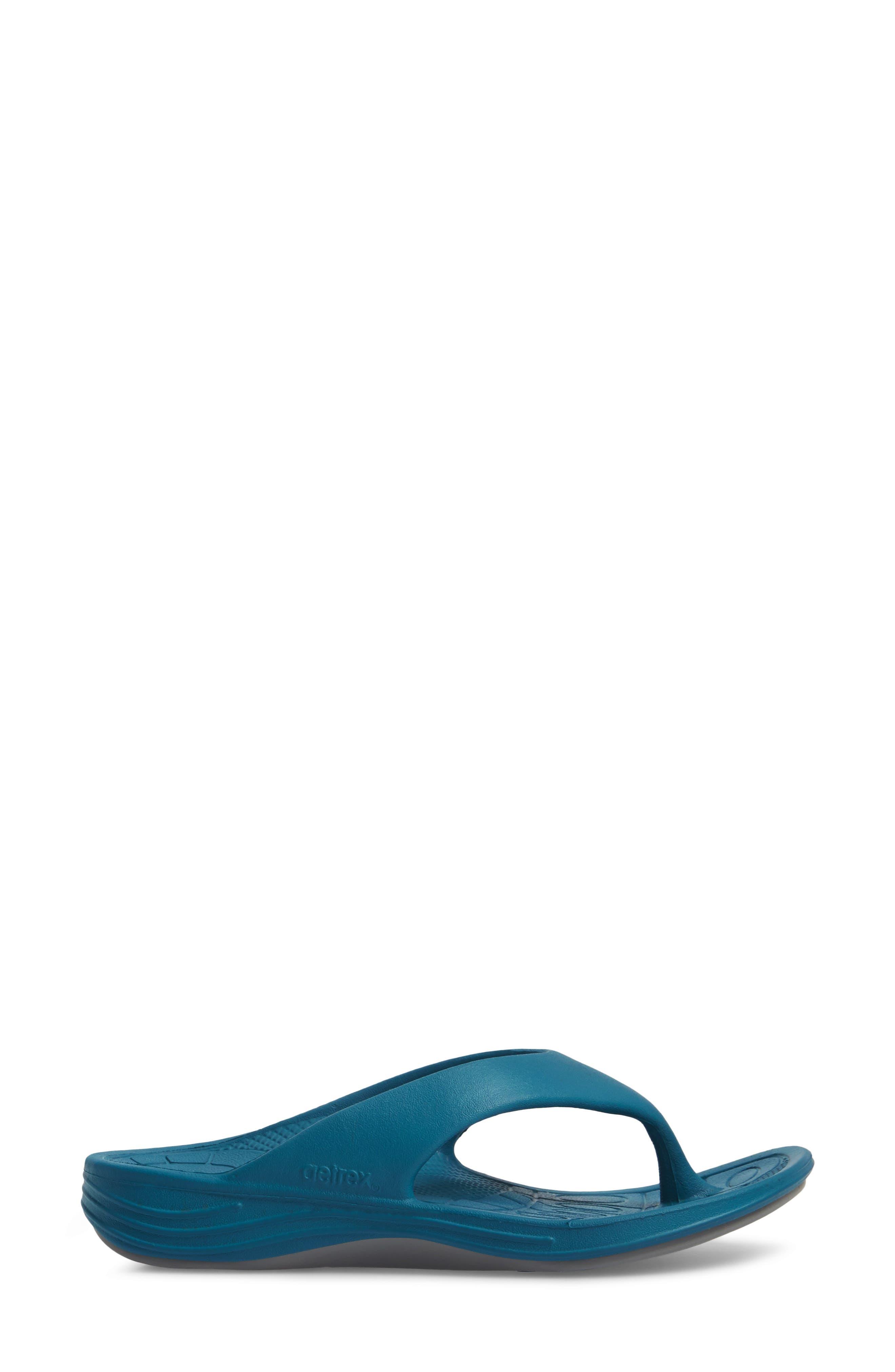 Lynco Flip Flop,                             Alternate thumbnail 3, color,                             Blue