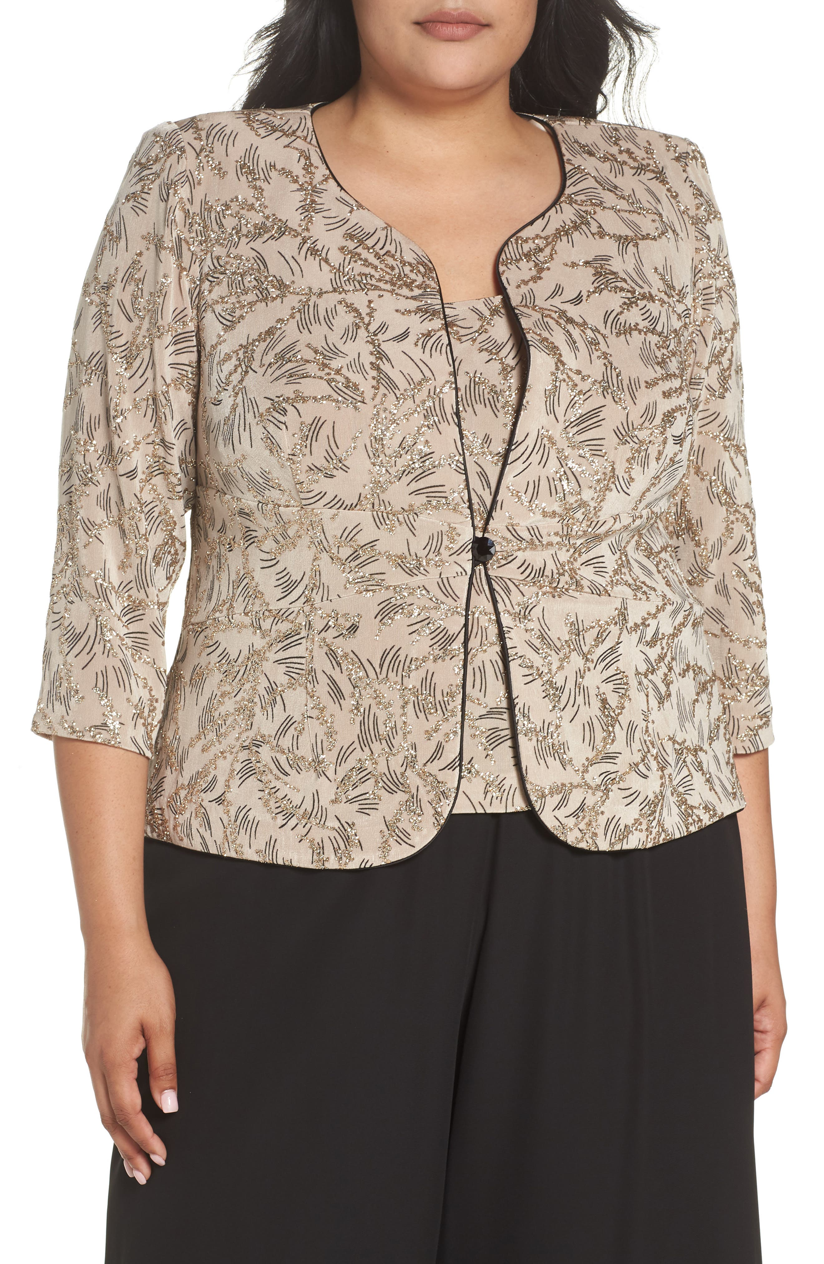 Print Twinset,                         Main,                         color, Champagne