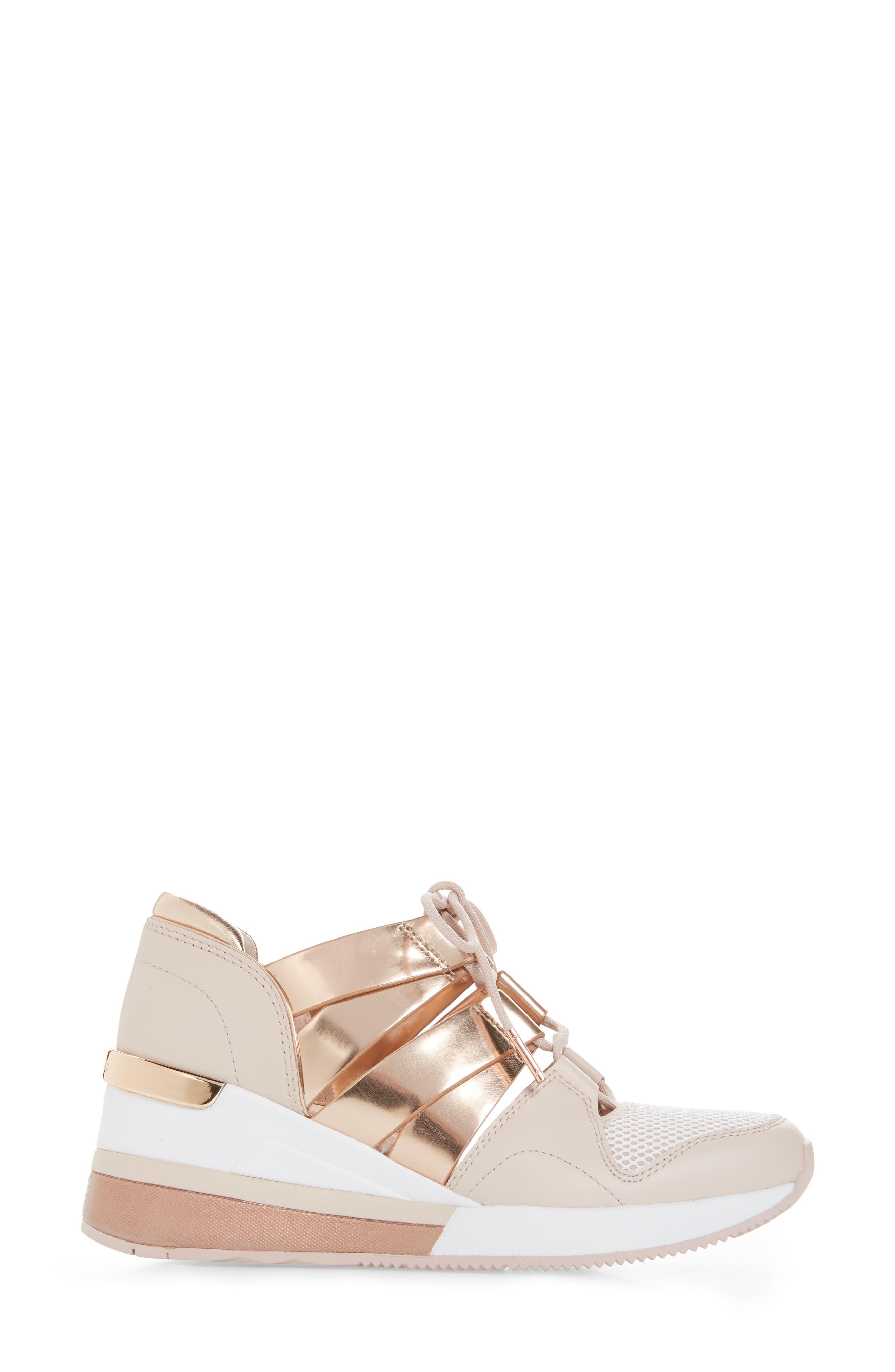 Beckett Sneaker,                             Alternate thumbnail 3, color,                             Gold