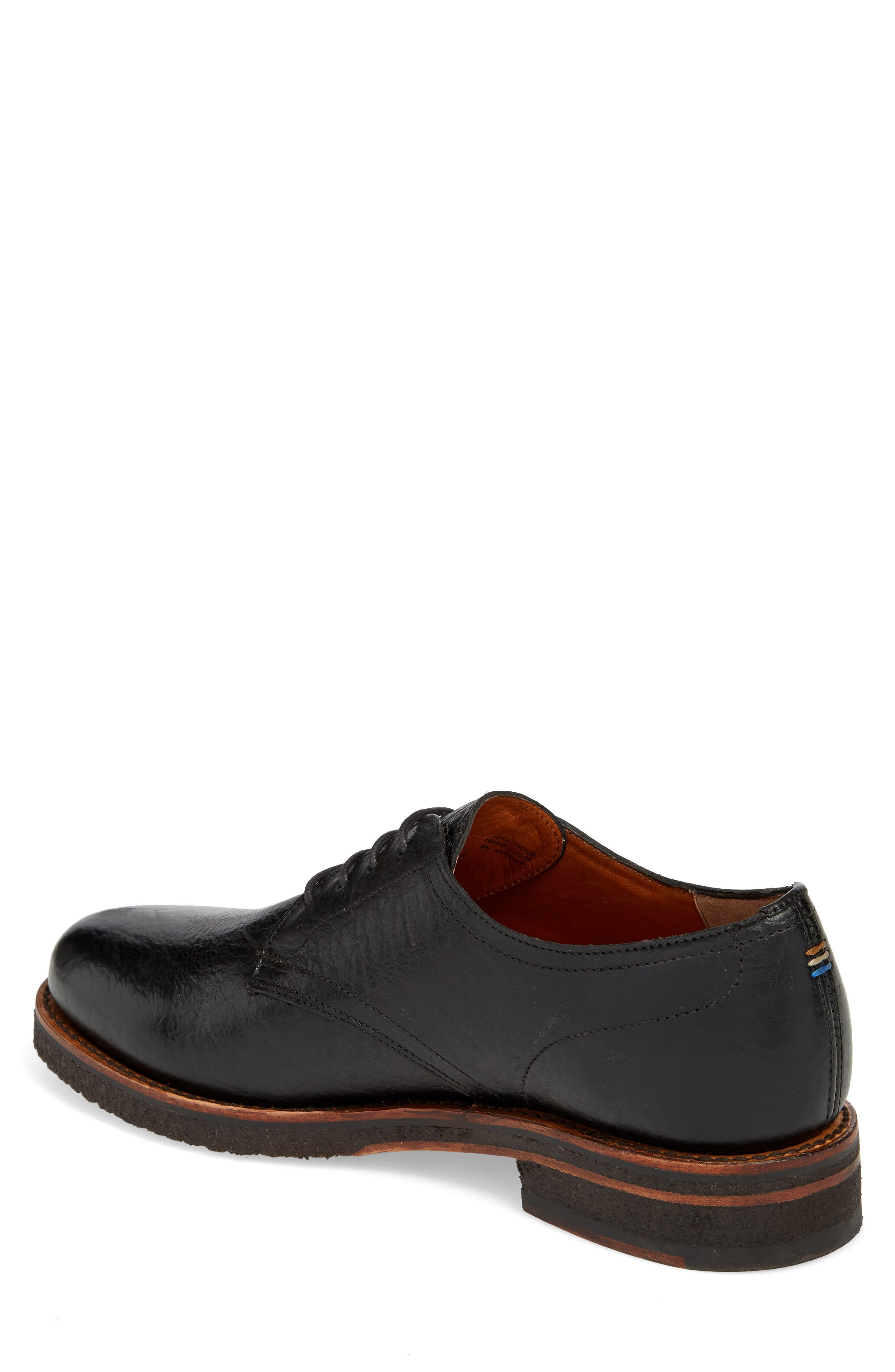 Two24 by Ariat Hawthorne Plain Toe Derby,                             Alternate thumbnail 2, color,                             Black Leather