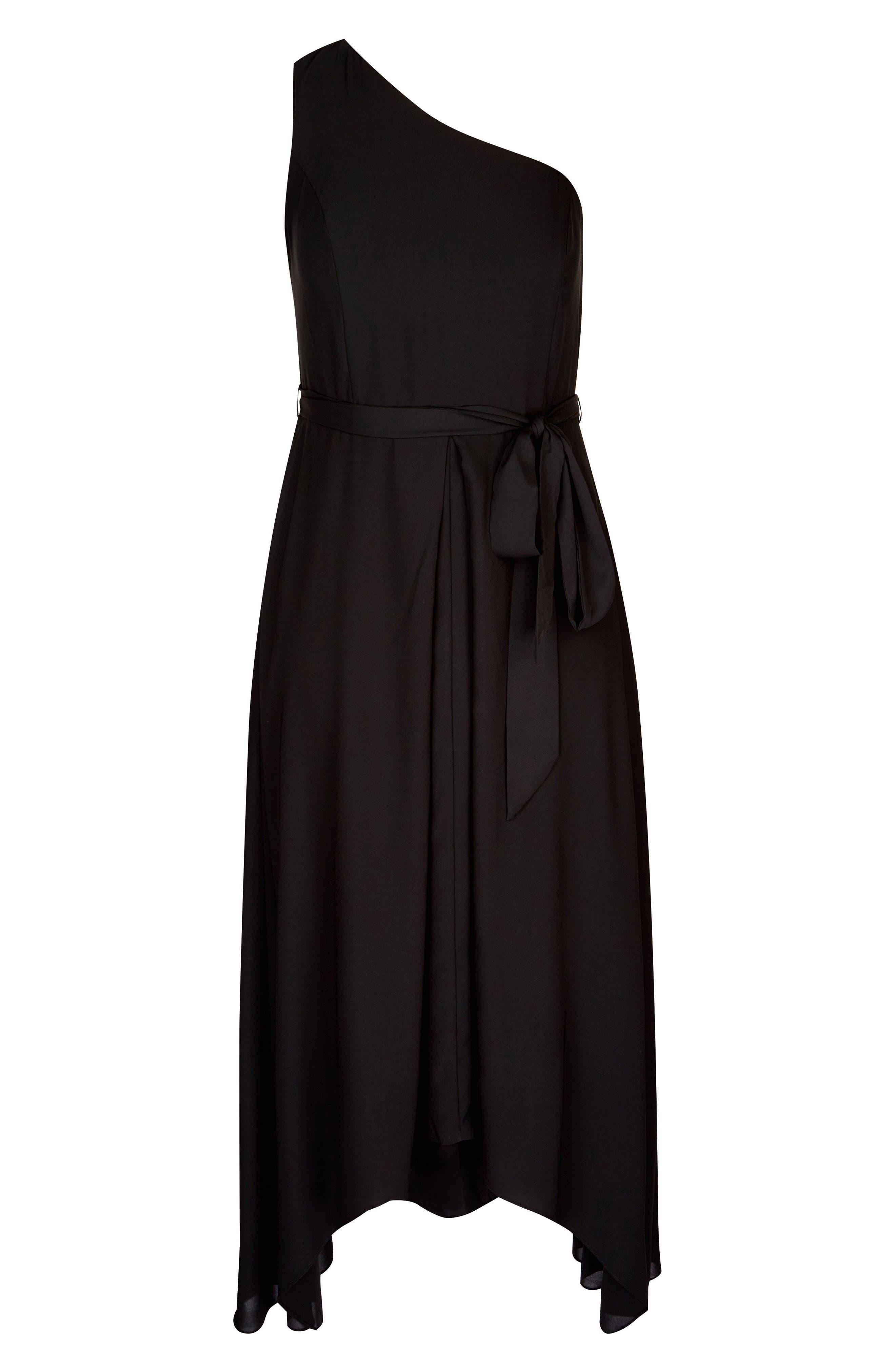 One Love Maxi Dress,                             Alternate thumbnail 3, color,                             Black