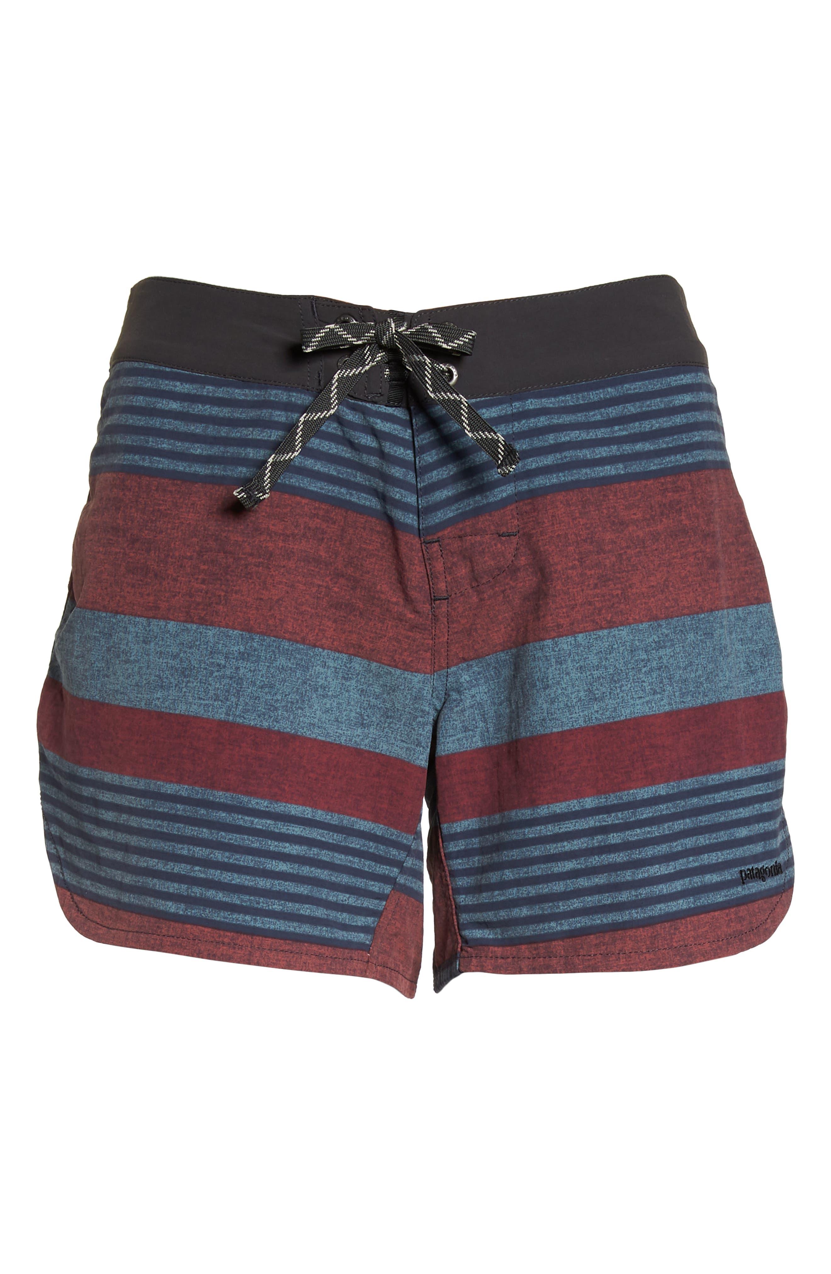 Wavefarer Board Shorts,                             Alternate thumbnail 6, color,                             Fitz Stripe: Kiln Pink
