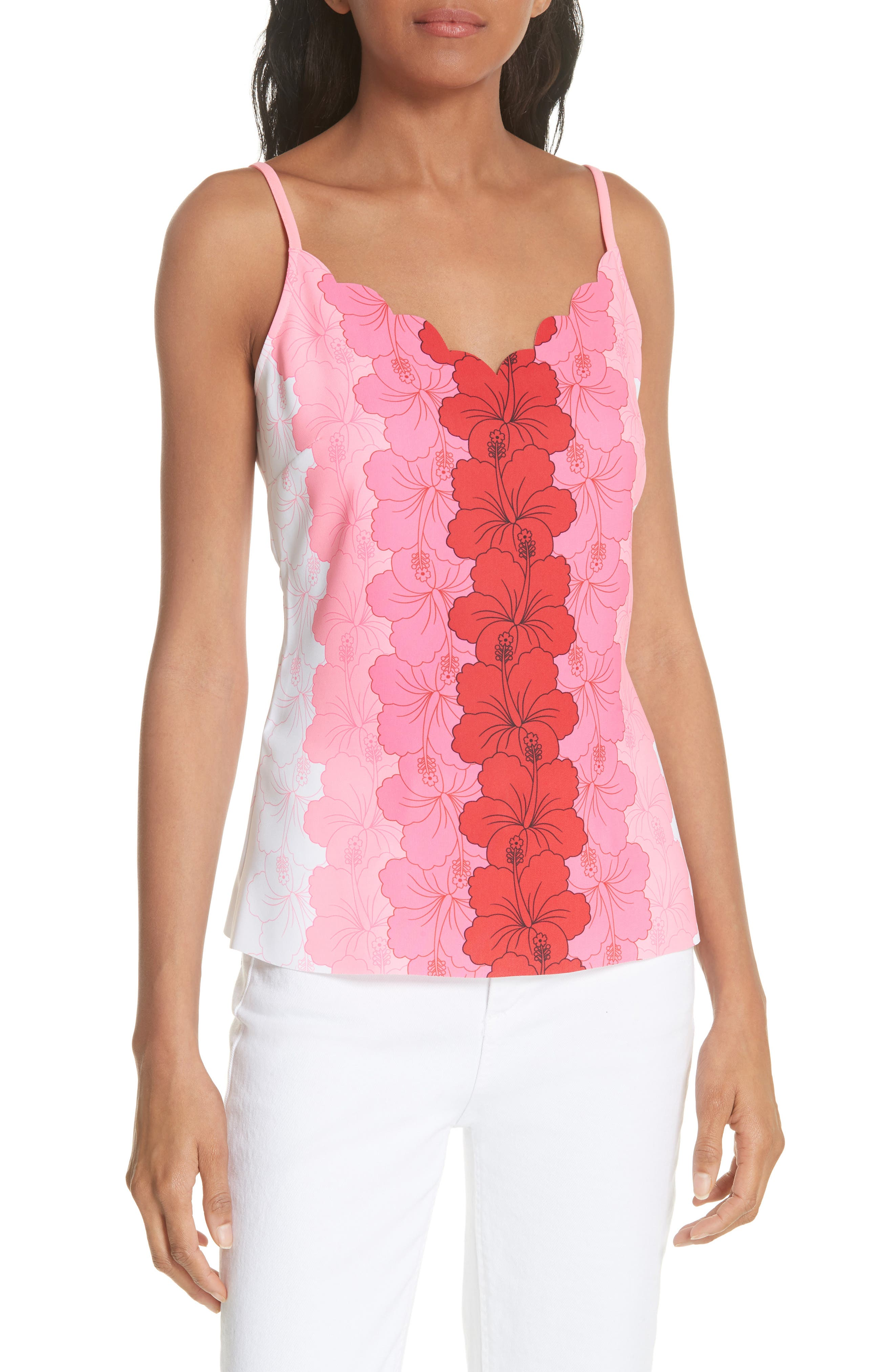 Romaa Happiness Camisole,                         Main,                         color, Neon Pink