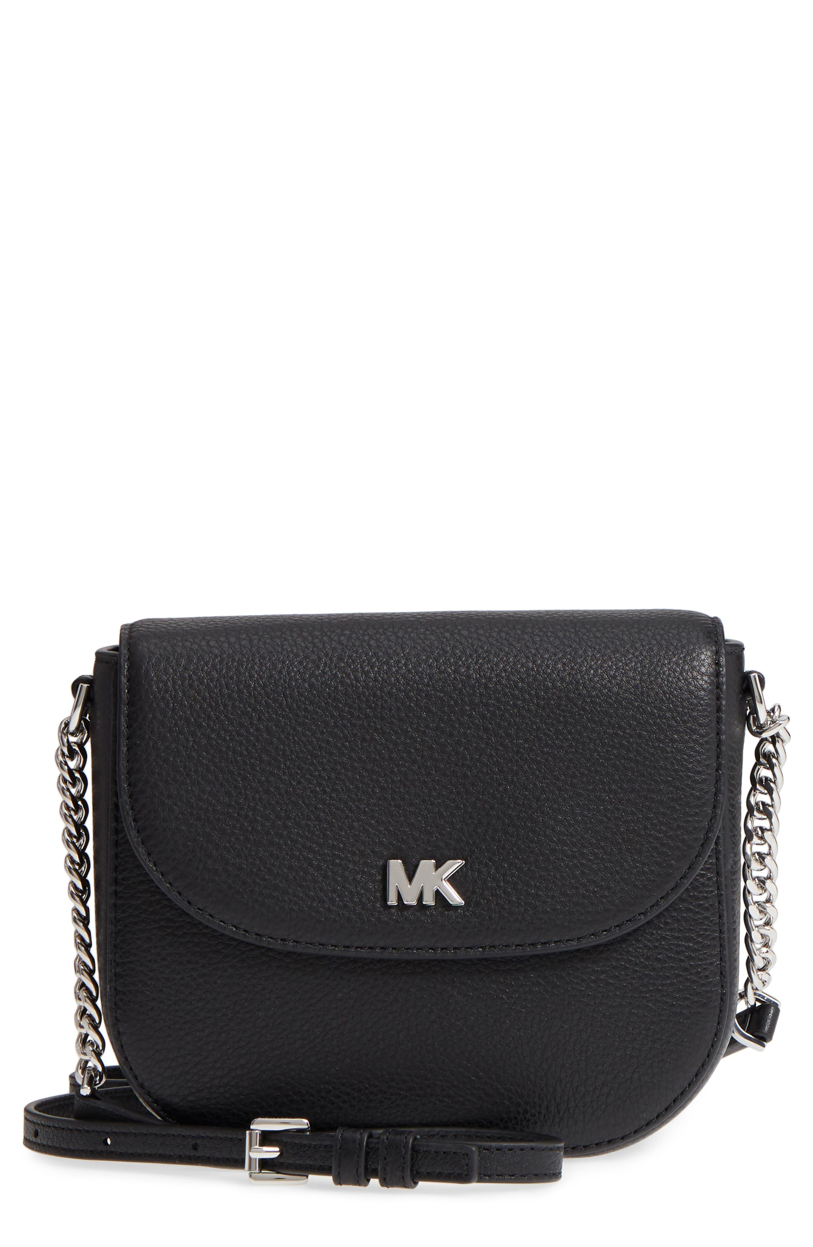 MICHAEL Michael Kors Mott Leather Crossbody Bag