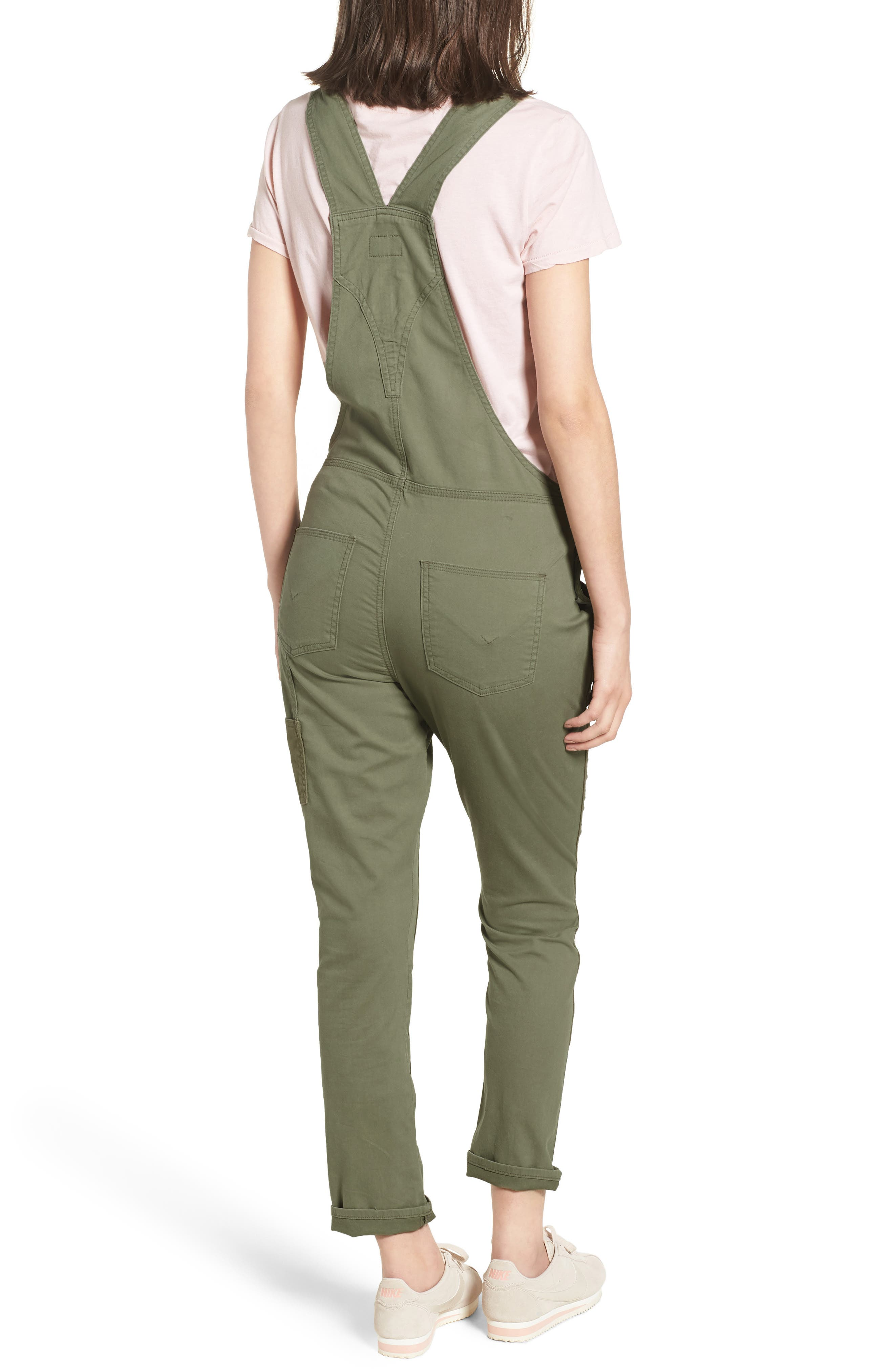 Alternate Image 2  - Hudson Jeans Workwear Overalls