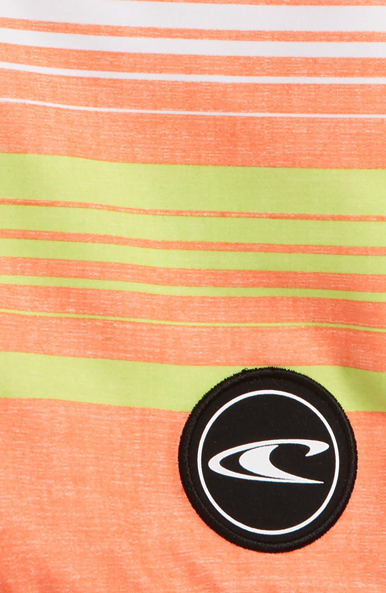 Bennett Board Shorts,                             Alternate thumbnail 2, color,                             Orange
