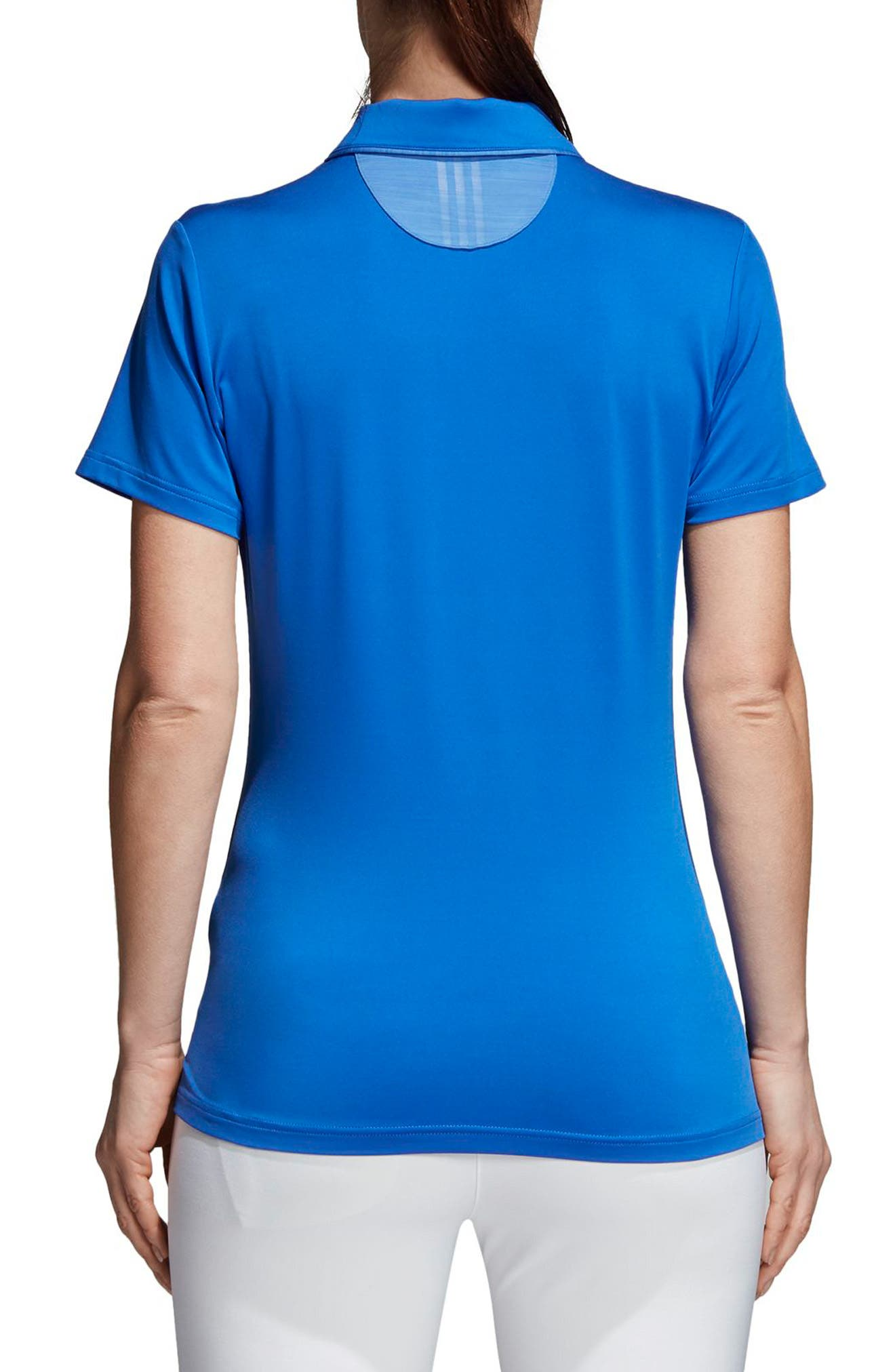 Essentials Ultimate 365 Polo,                             Alternate thumbnail 2, color,                             Hi-Res Blue