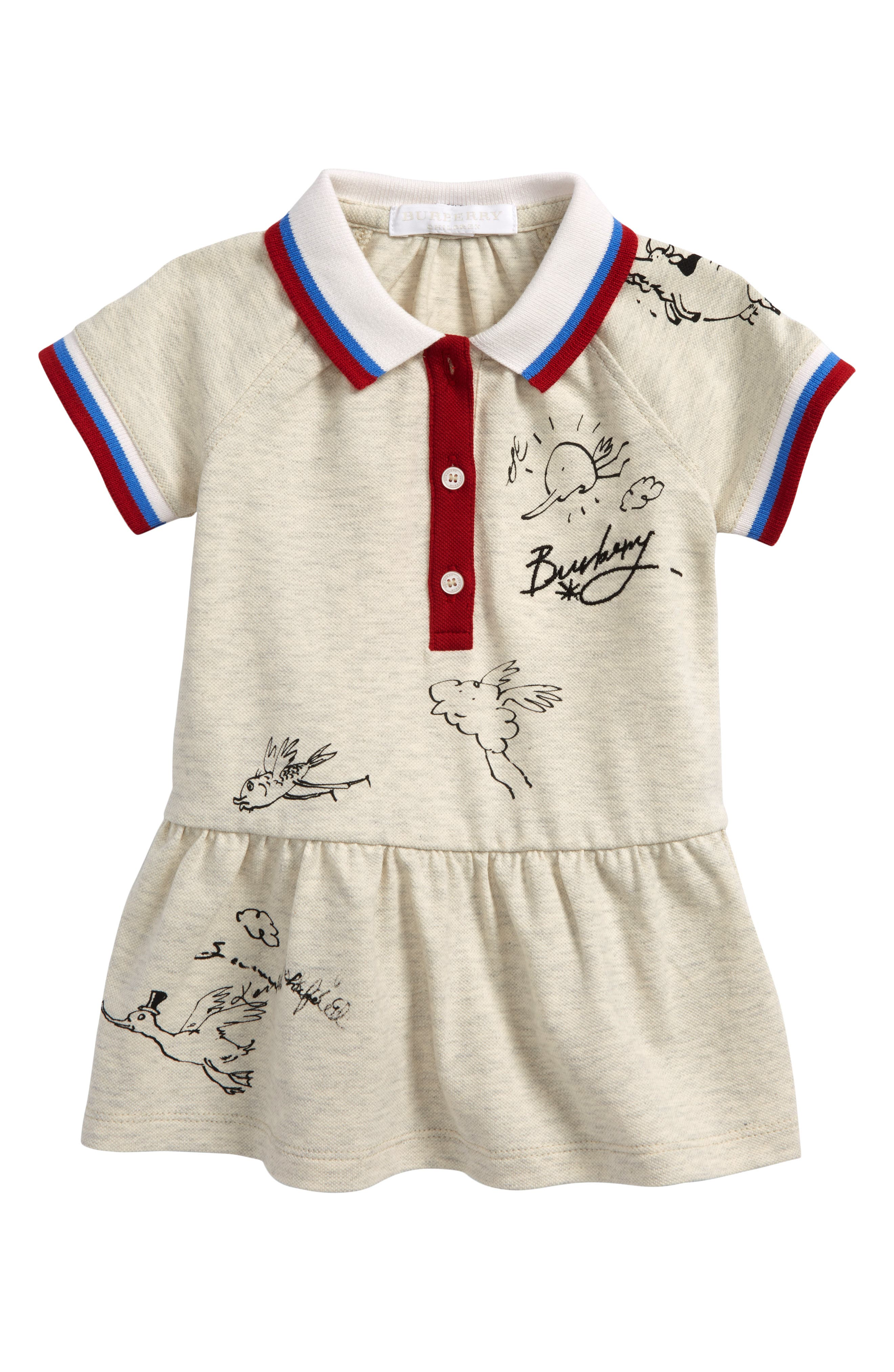 Burberry Mini Cali Polo Dress (Baby Girls)