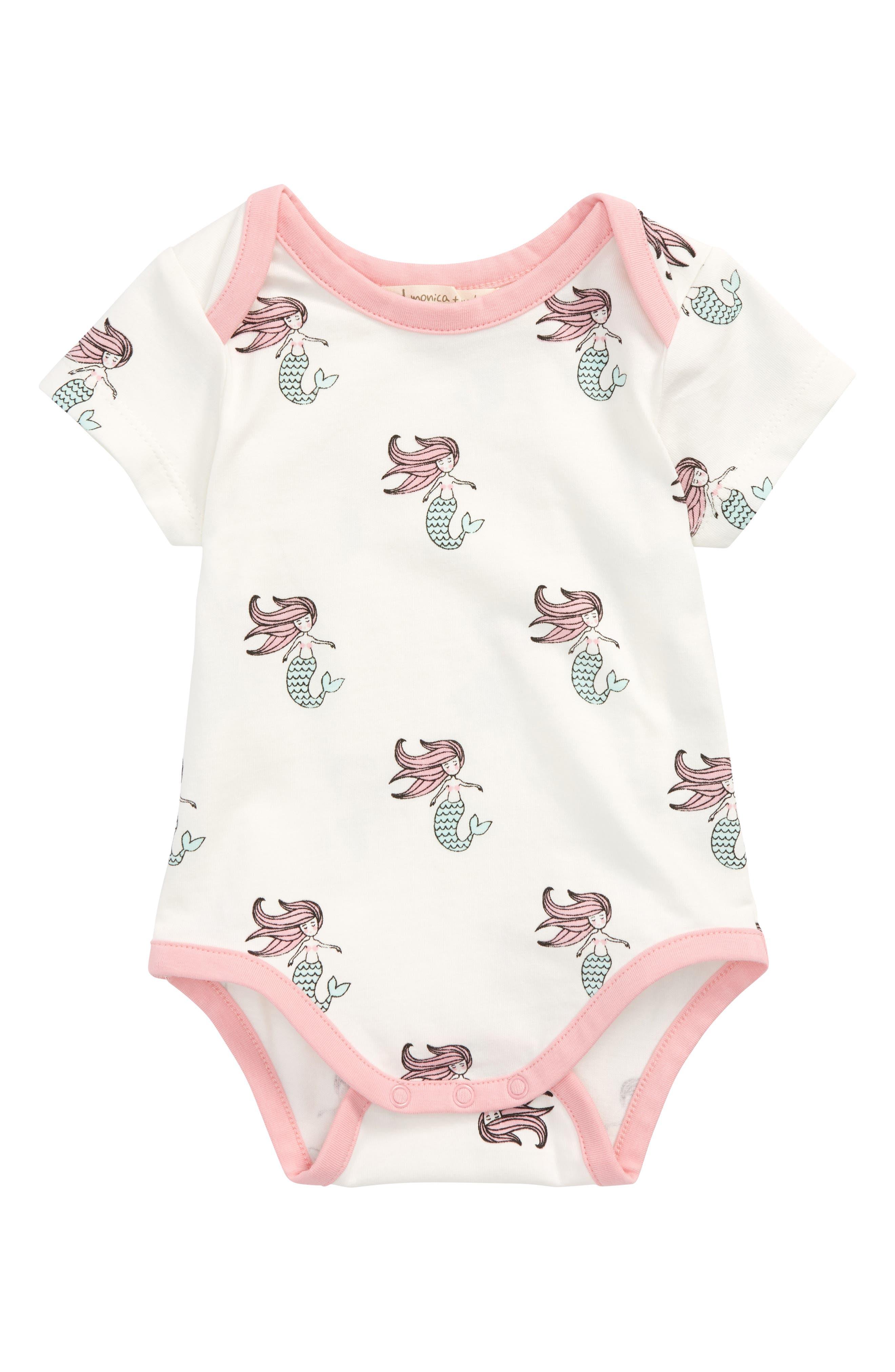 Monica + Andy Jack Jill - Mermaid Bodysuit (Baby Girls)
