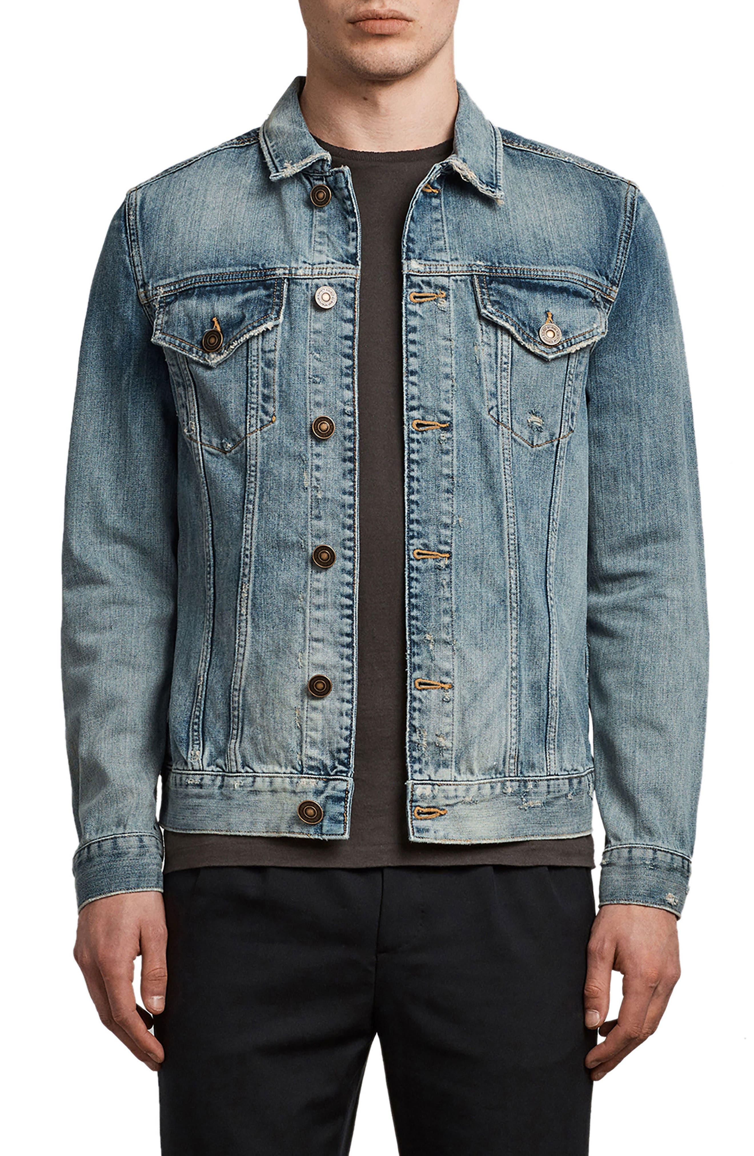Inverness Denim Jacket,                         Main,                         color, Indigo