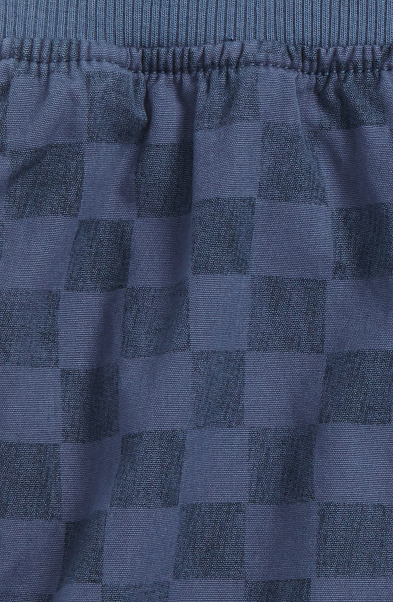 Piped Shorts,                             Alternate thumbnail 2, color,                             Loch Blue Checkerboard