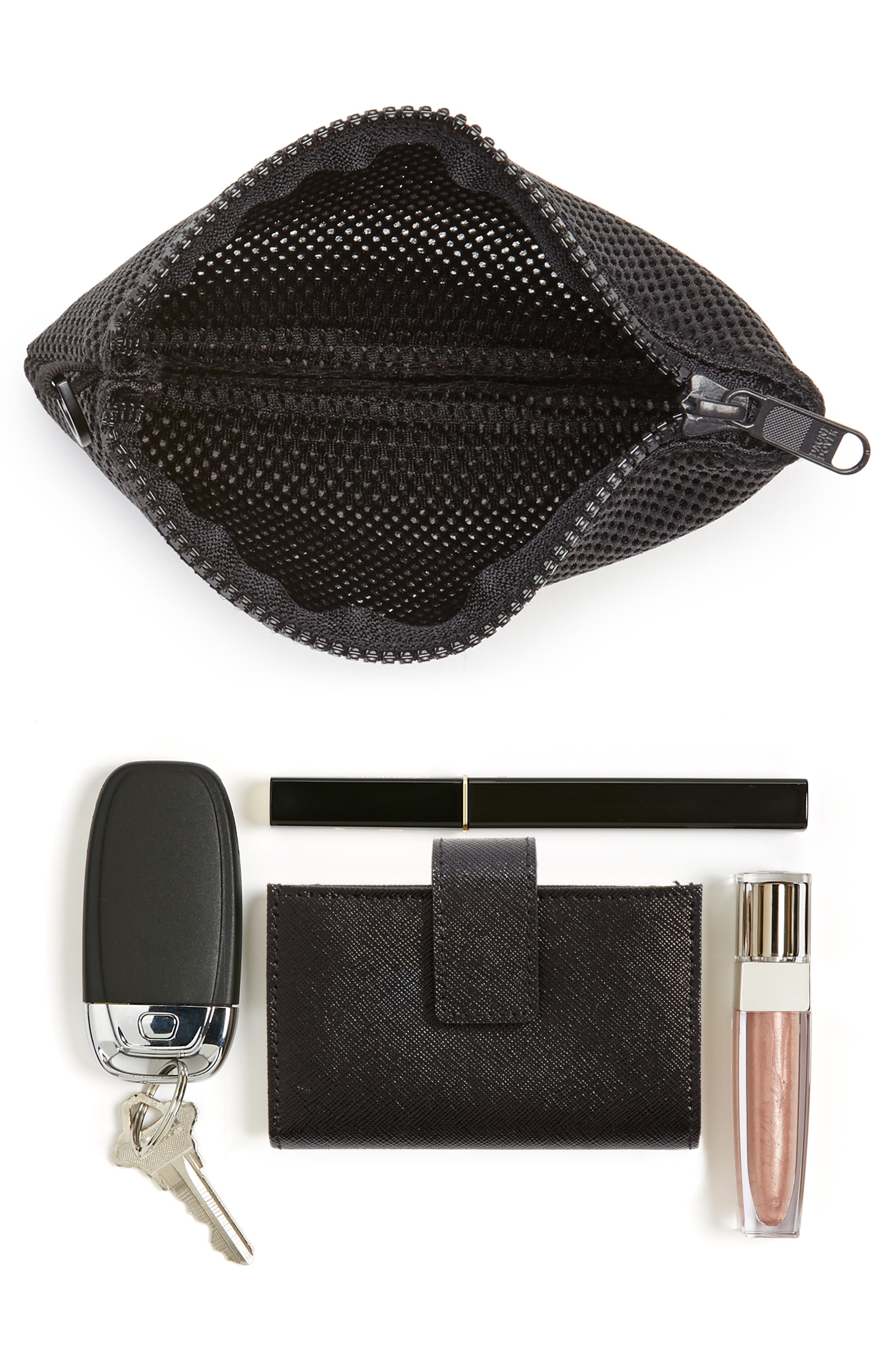 Small Parker Mesh Pouch,                             Alternate thumbnail 5, color,
