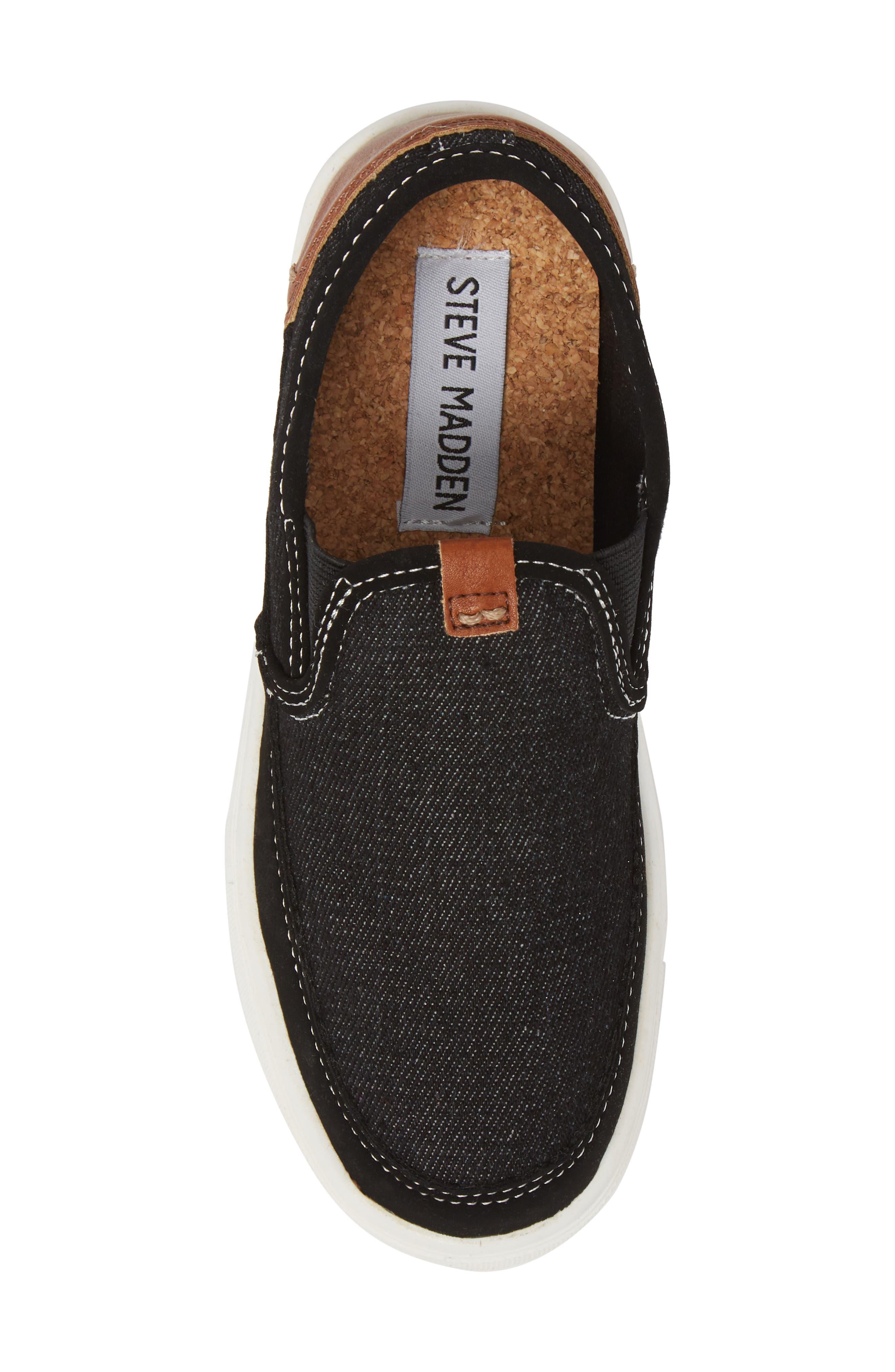 Bfoleeo Slip-On Sneaker,                             Alternate thumbnail 5, color,                             Black