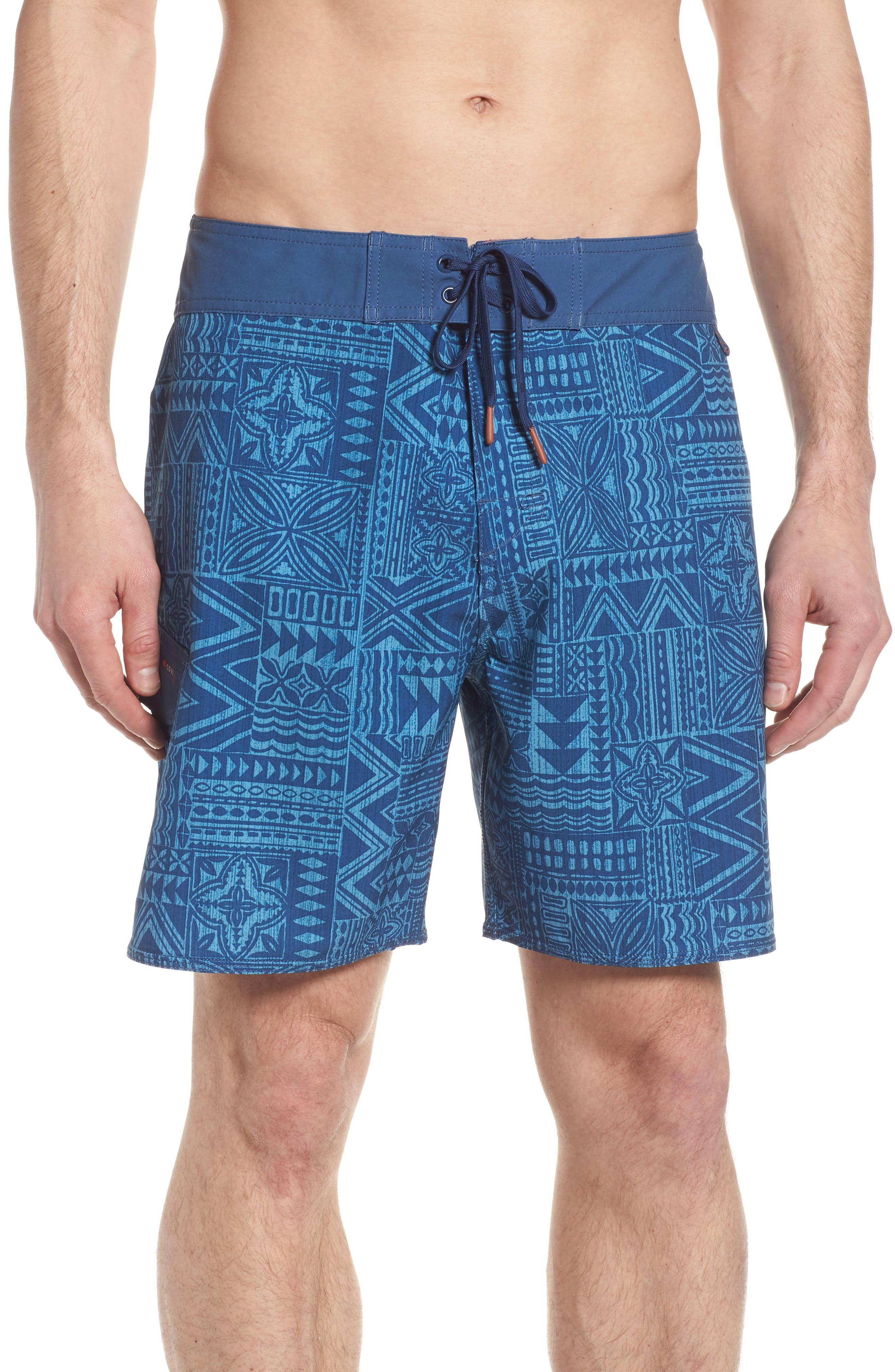 Diamond Head Board Shorts,                         Main,                         color, Deep Sea