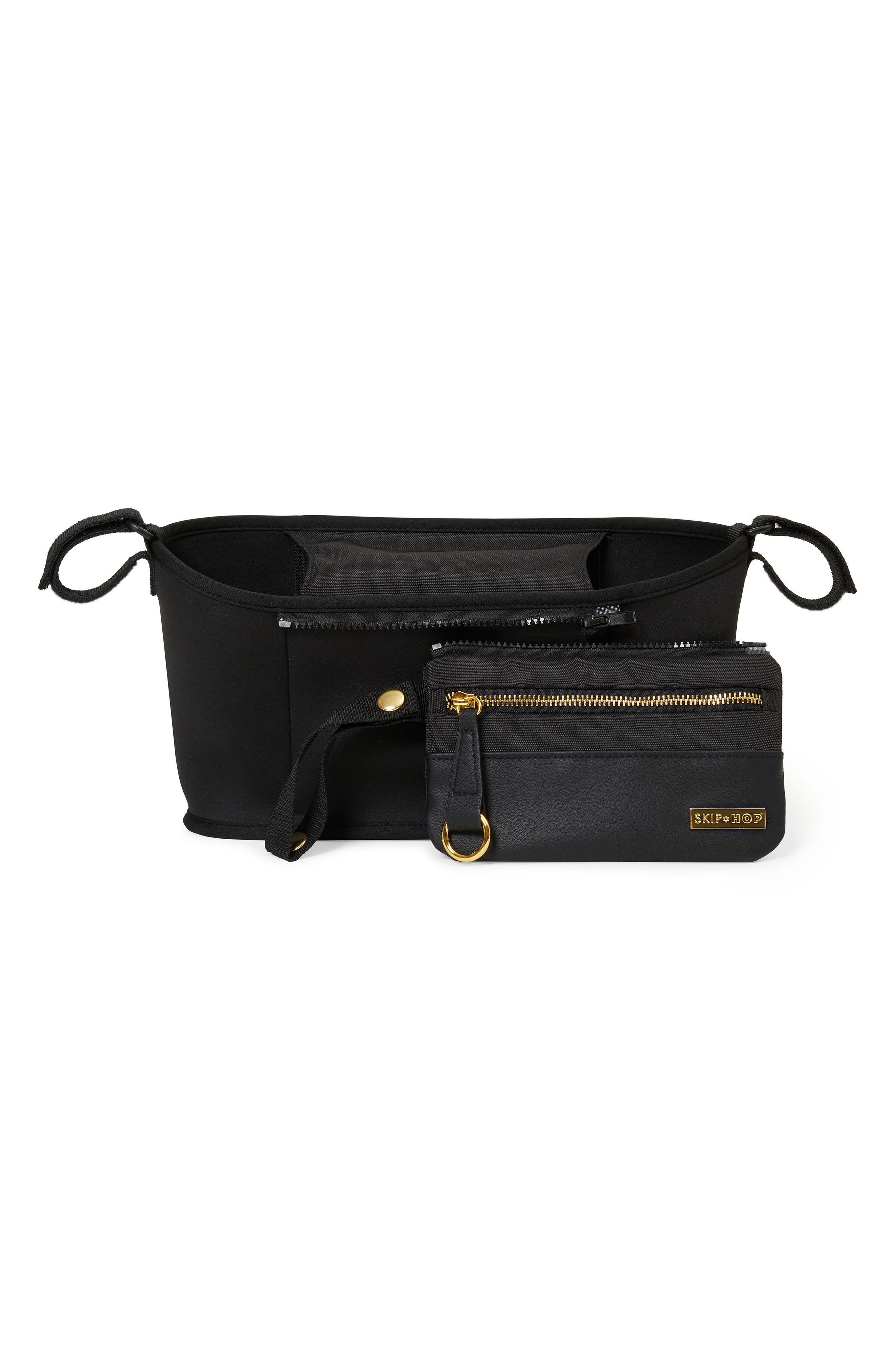 Grab & Go Luxe Stroller Organizer,                         Main,                         color, Black