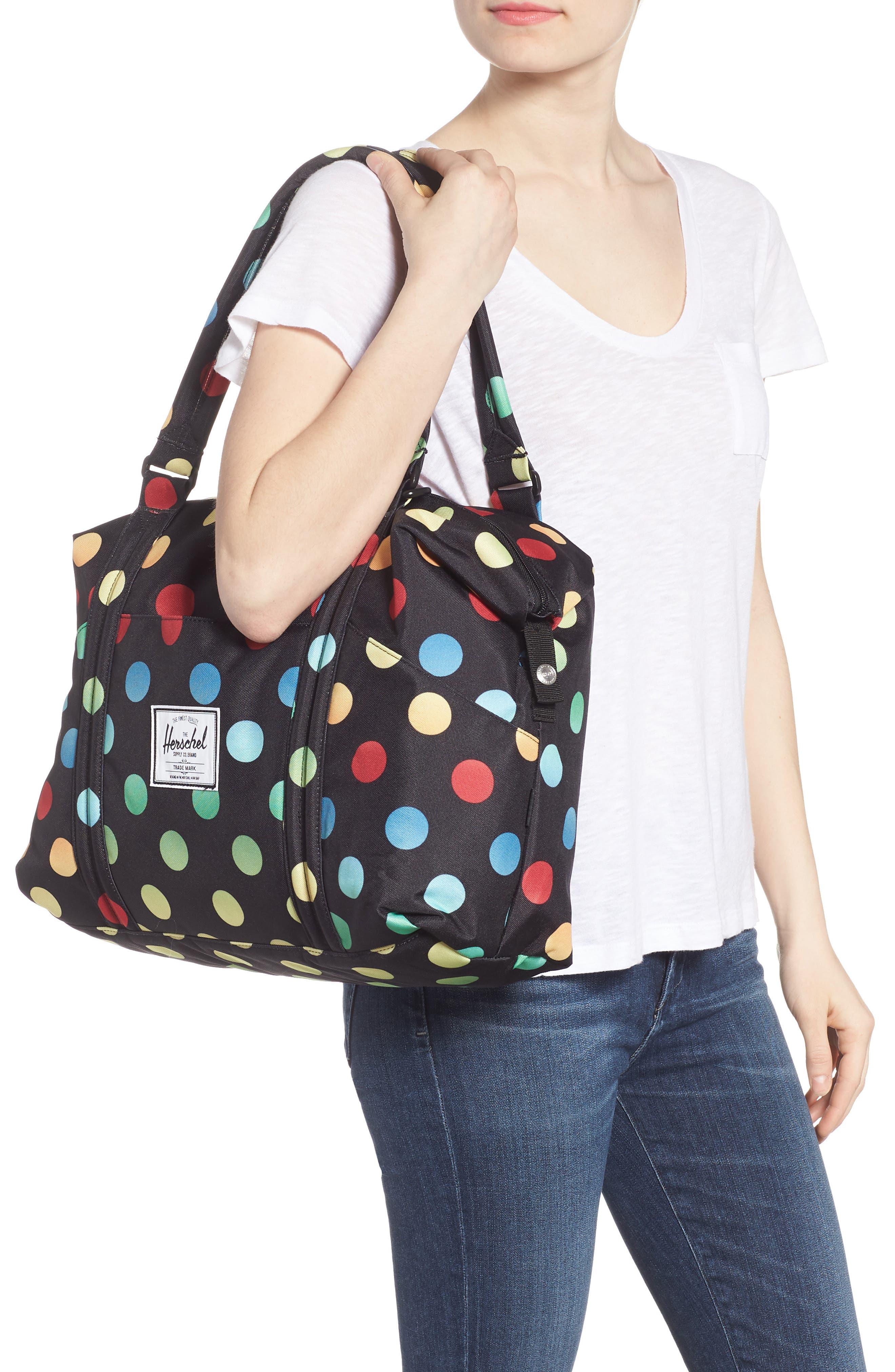 Sprout Diaper Bag,                             Alternate thumbnail 2, color,                             Black Rainbow