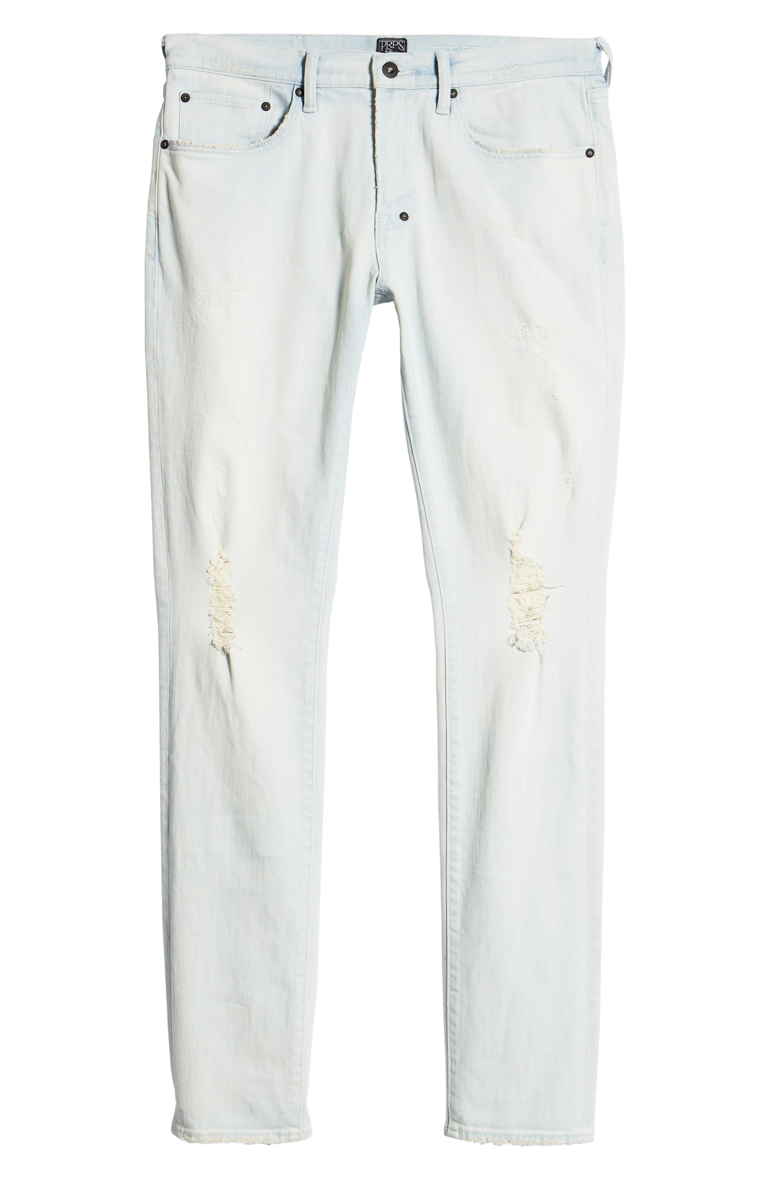 Windsor Slim Fit Jeans,                             Alternate thumbnail 6, color,                             Blue