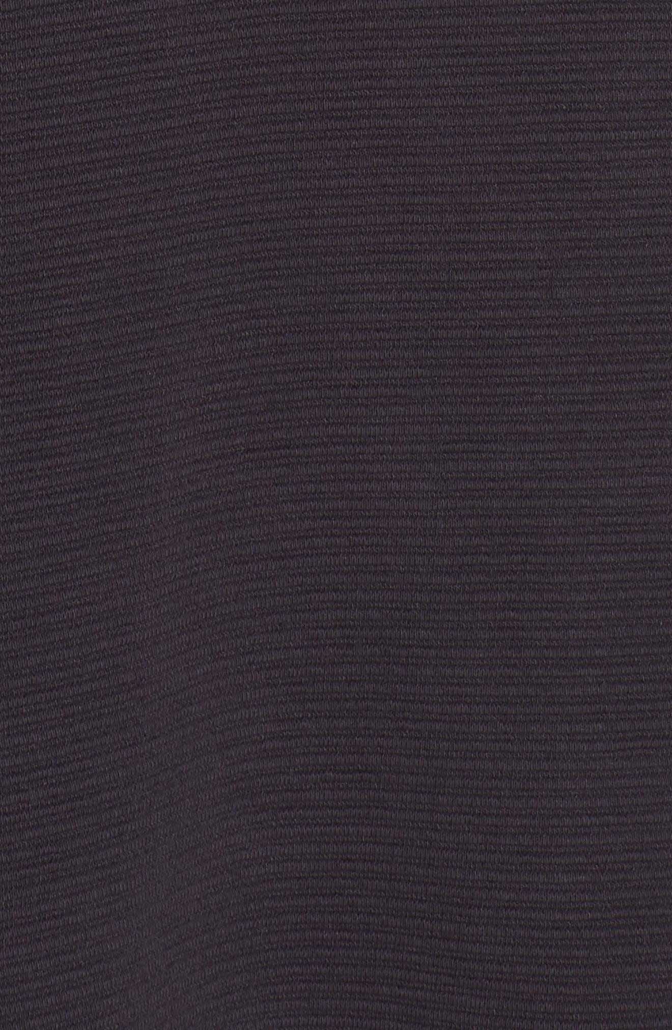Paros Sudan Bell Sleeve Shift Dress,                             Alternate thumbnail 6, color,                             Utility Blue