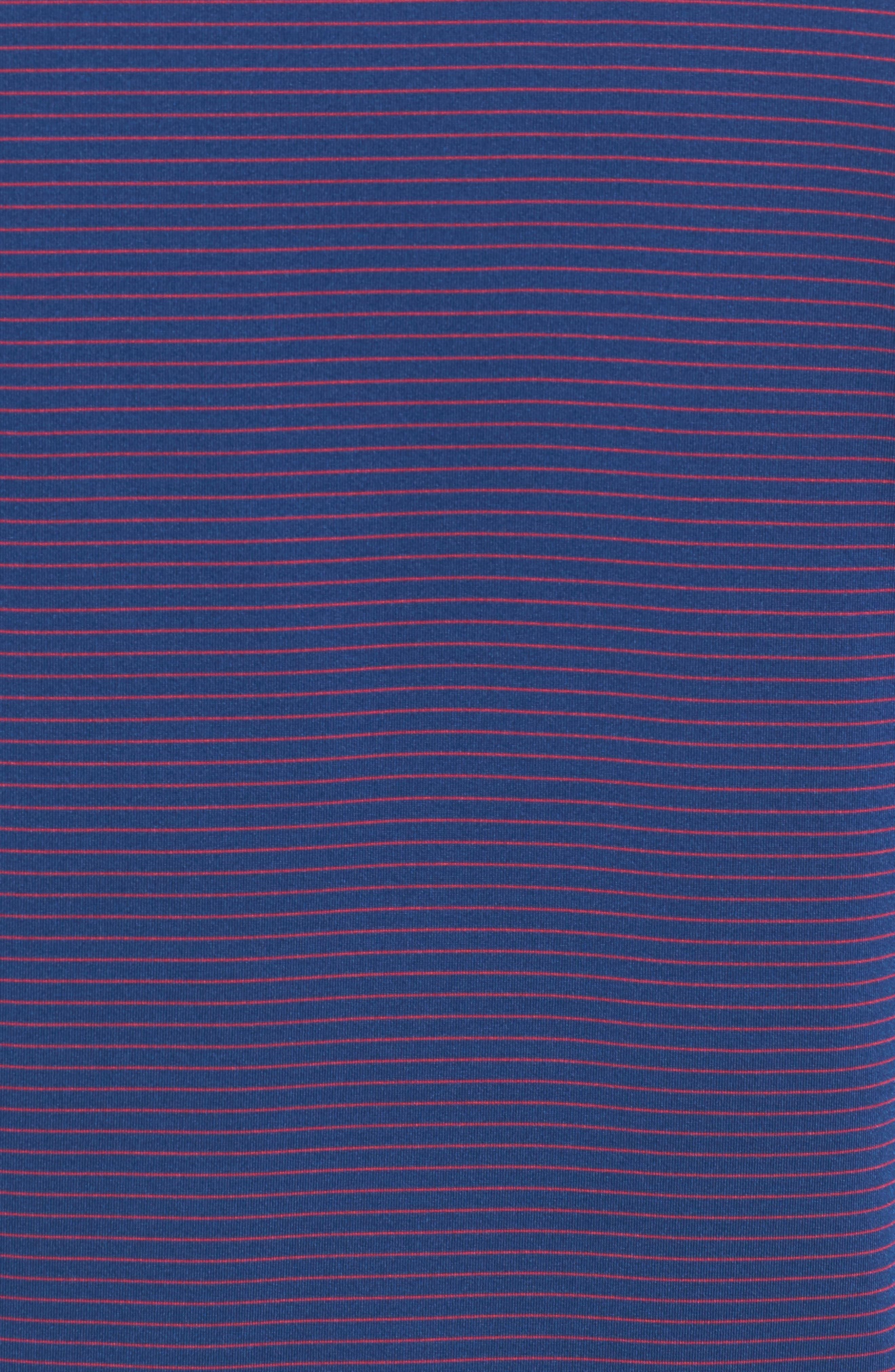 Samish Stripe DryTec Polo,                             Alternate thumbnail 4, color,                             Nautical
