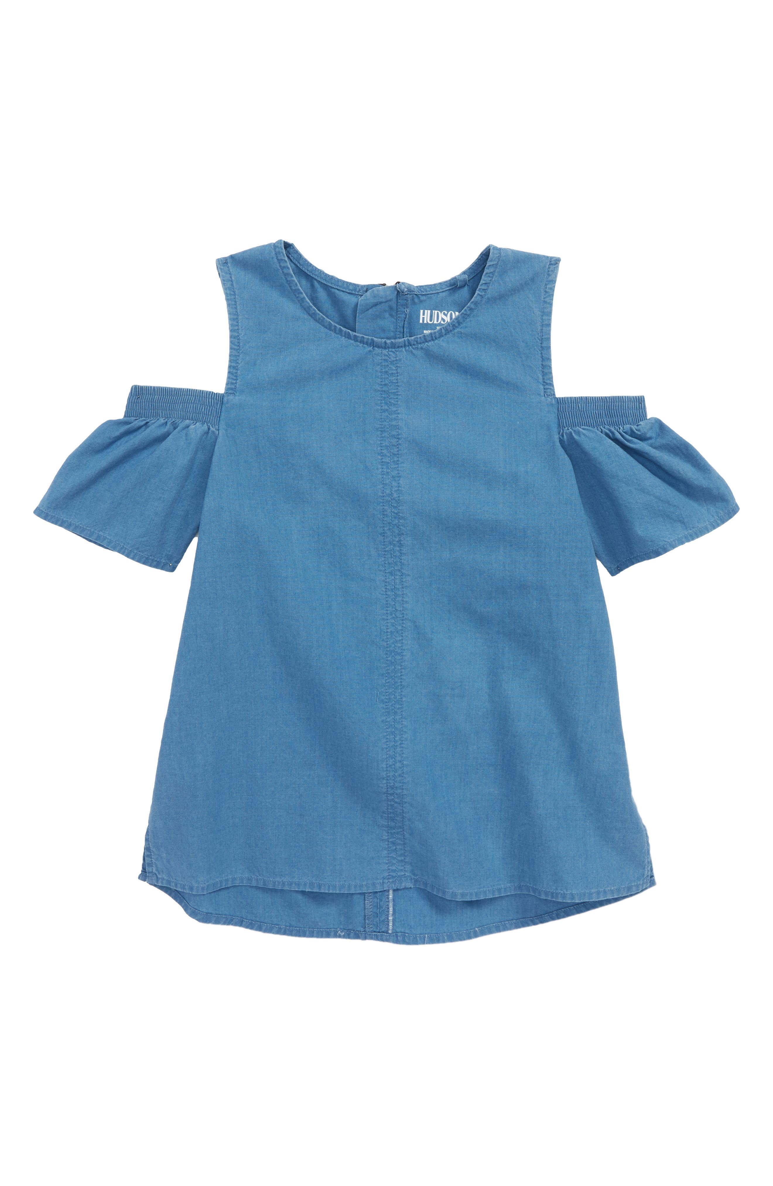 Maya Cold Shoulder Top,                         Main,                         color, Chn-China Blue