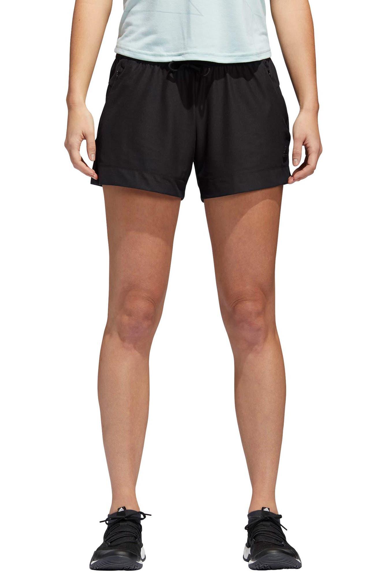 ID Mesh Shorts,                             Main thumbnail 1, color,                             Black