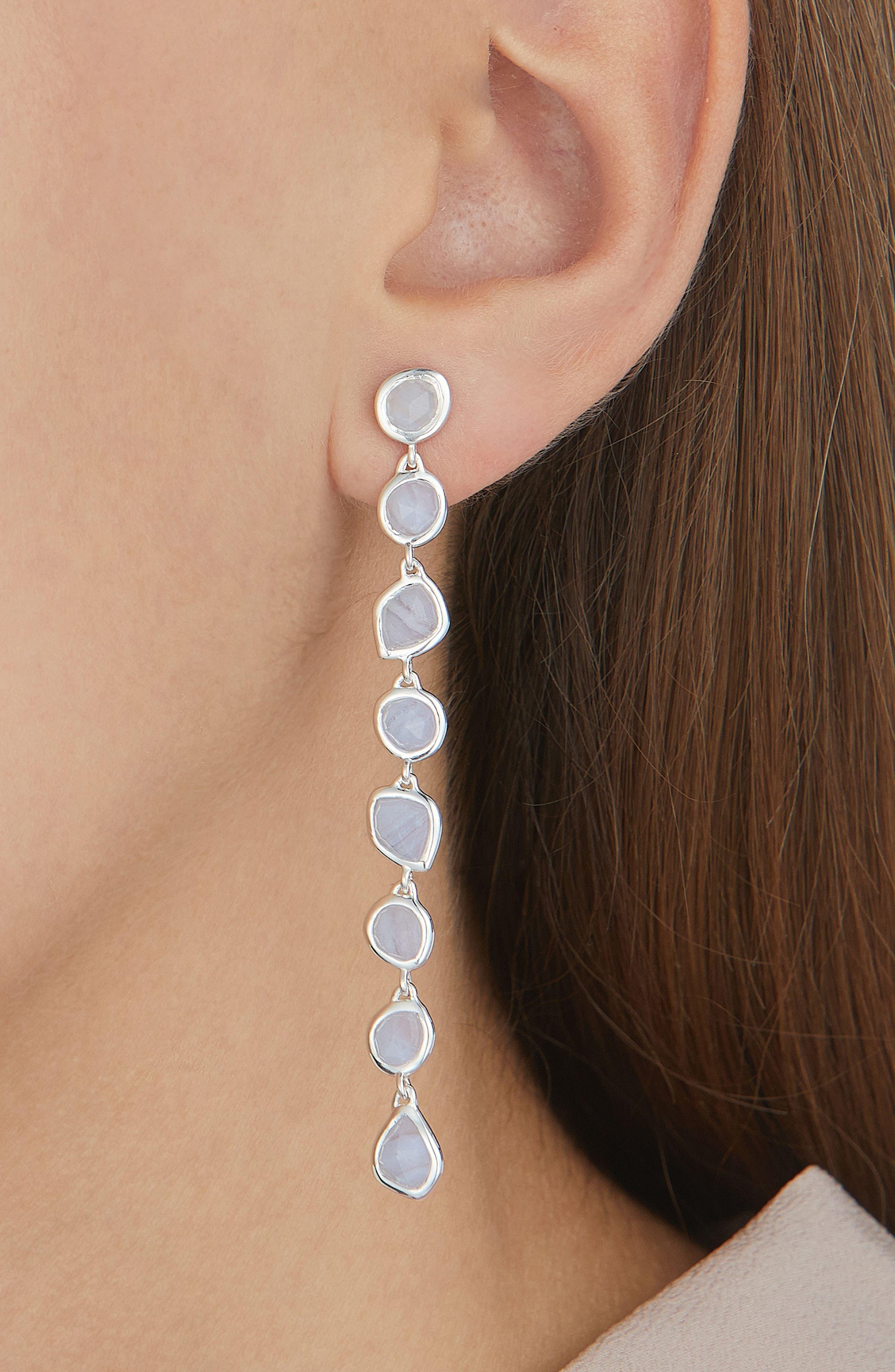 Alternate Image 2  - Monica Vinader Siren Mini Nugget Earrings