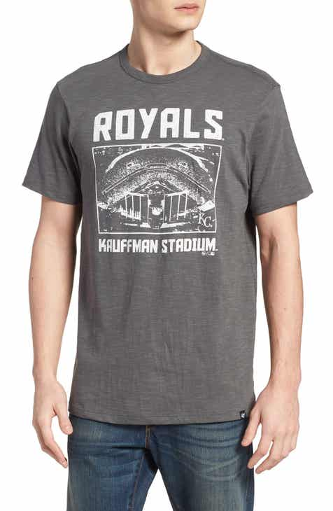 '47 MLB Overdrive Scrum Kansas City Royals T-Shirt