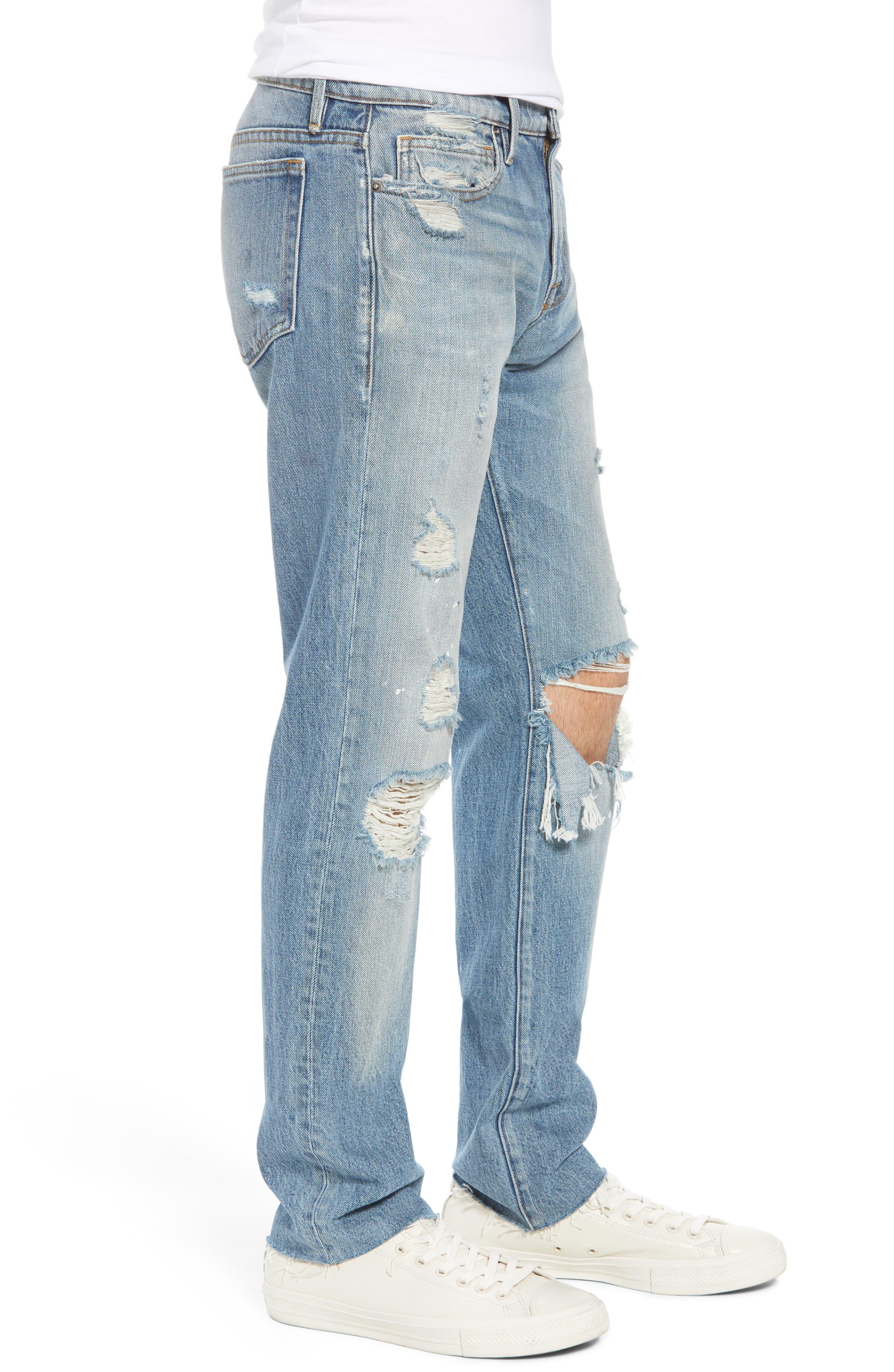 L'Homme Slim Fit Jeans,                             Alternate thumbnail 3, color,                             Bizworth
