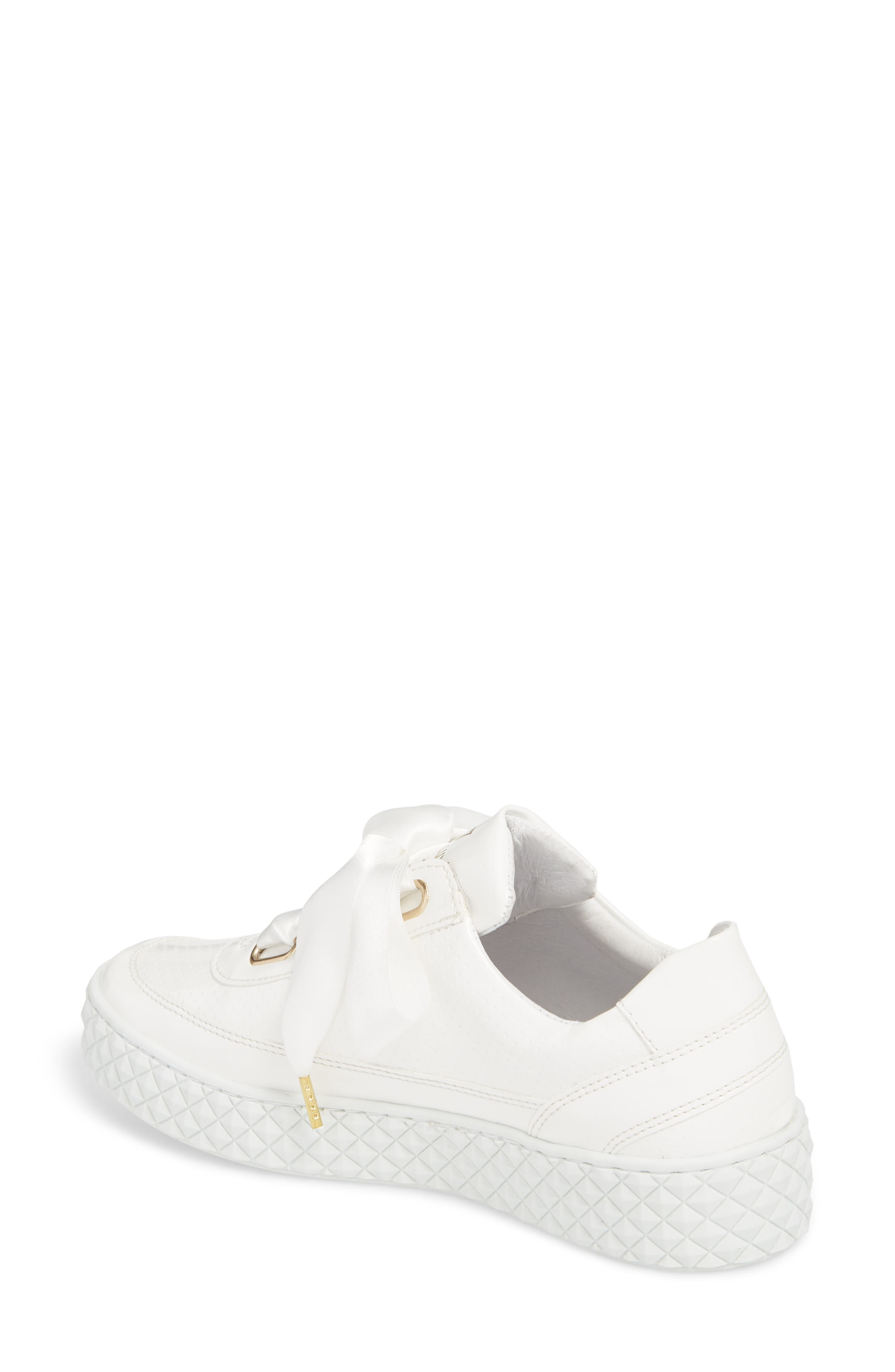 Montreal II Sneaker,                             Alternate thumbnail 2, color,                             White Leather